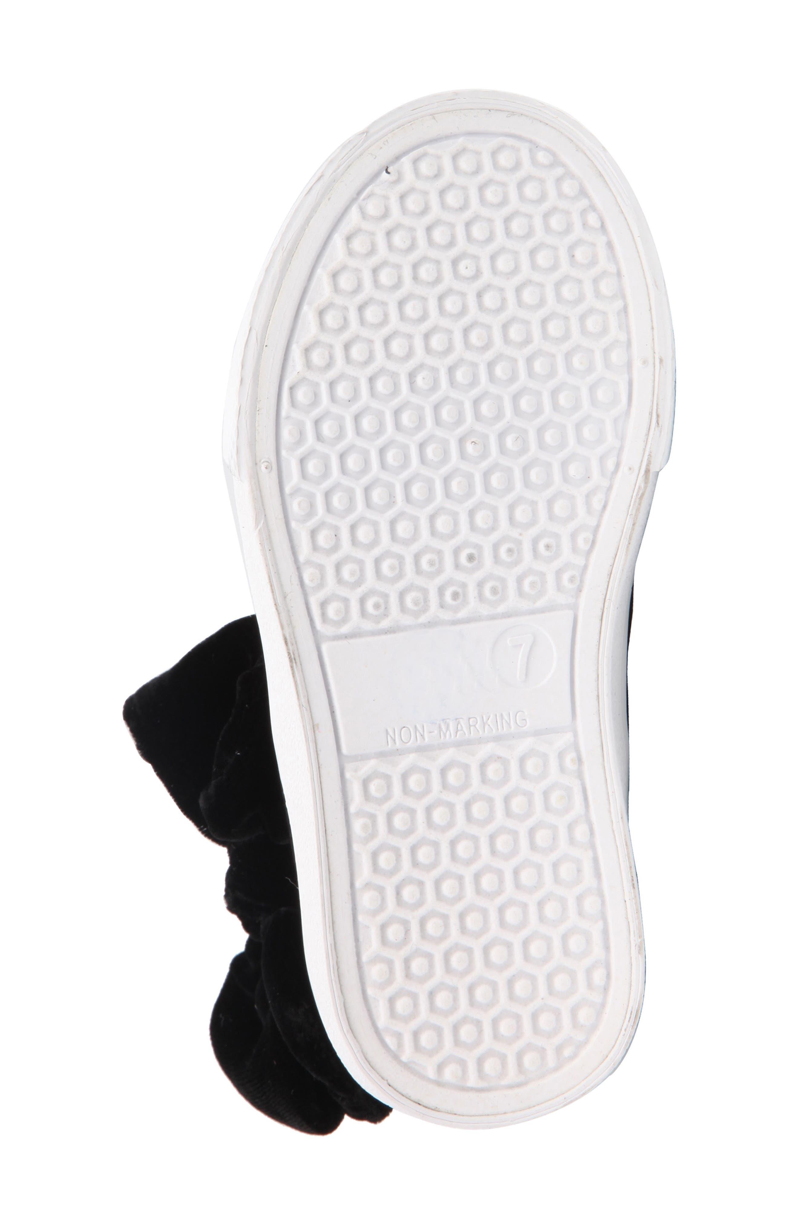 Harolyn Bow Bootie Sneaker,                             Alternate thumbnail 6, color,                             005