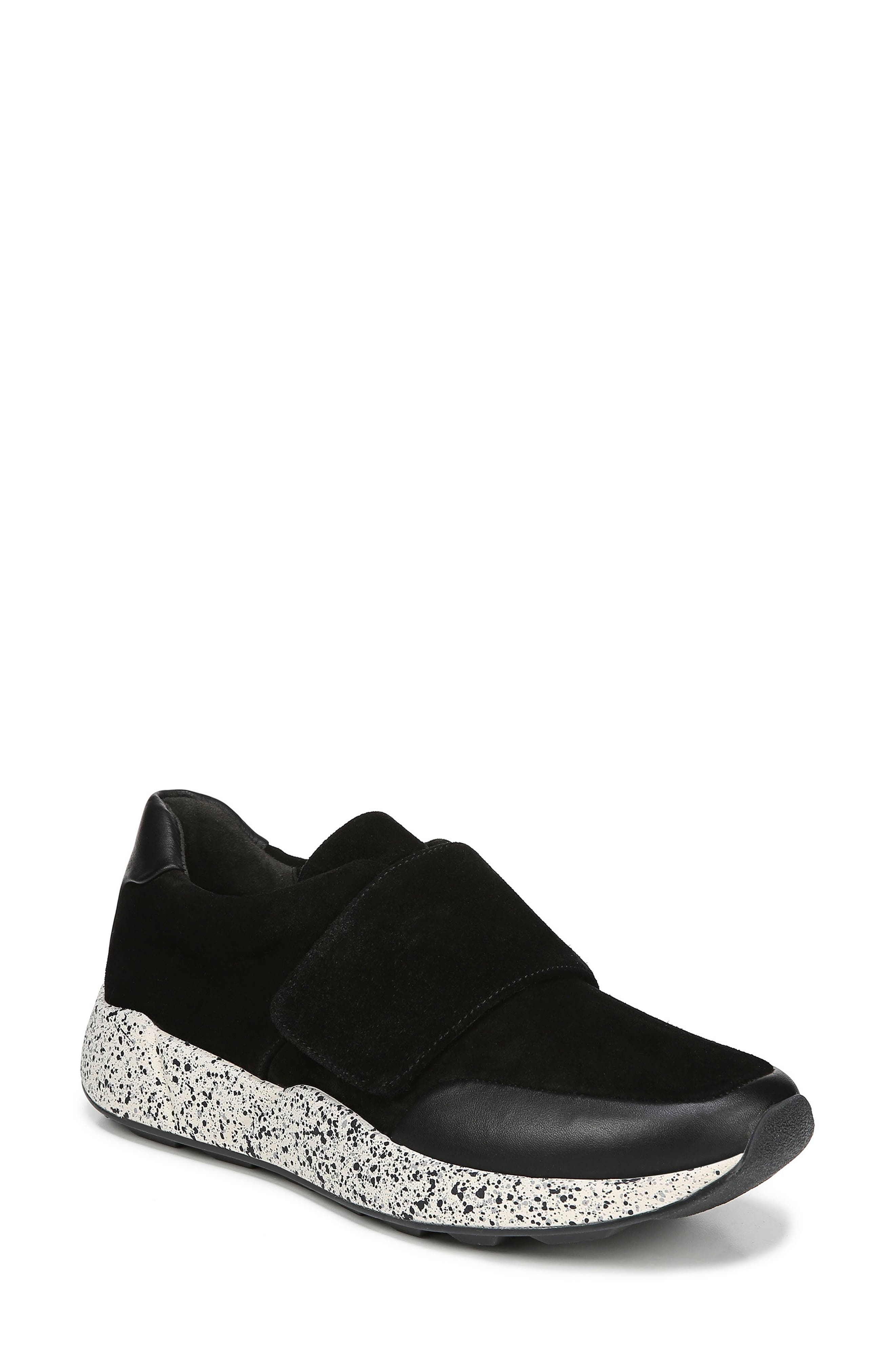 Women'S Gage Leather & Suede Sneakers in Black Coco