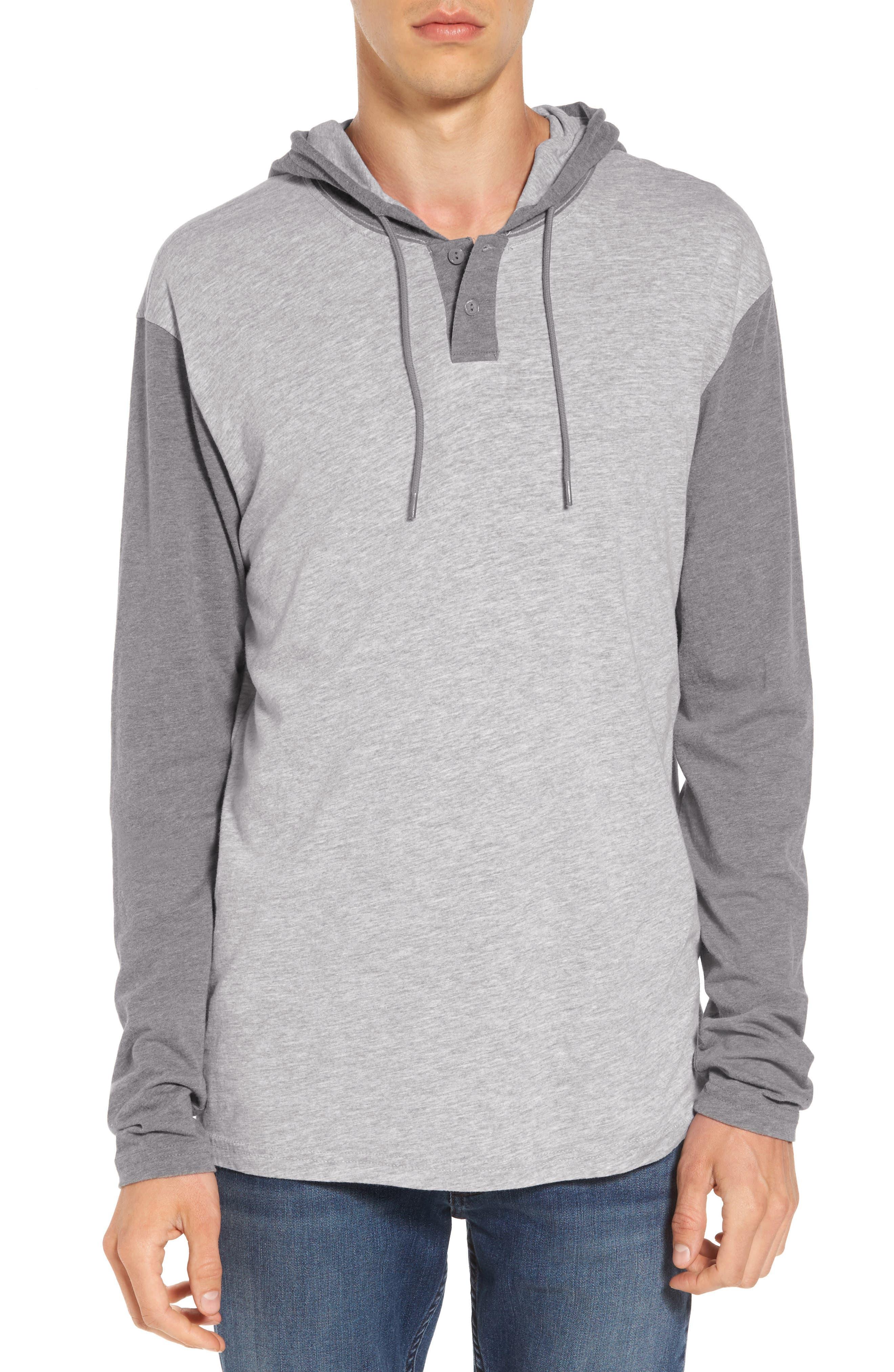Pick Up Hooded Henley Sweatshirt,                         Main,                         color, 021