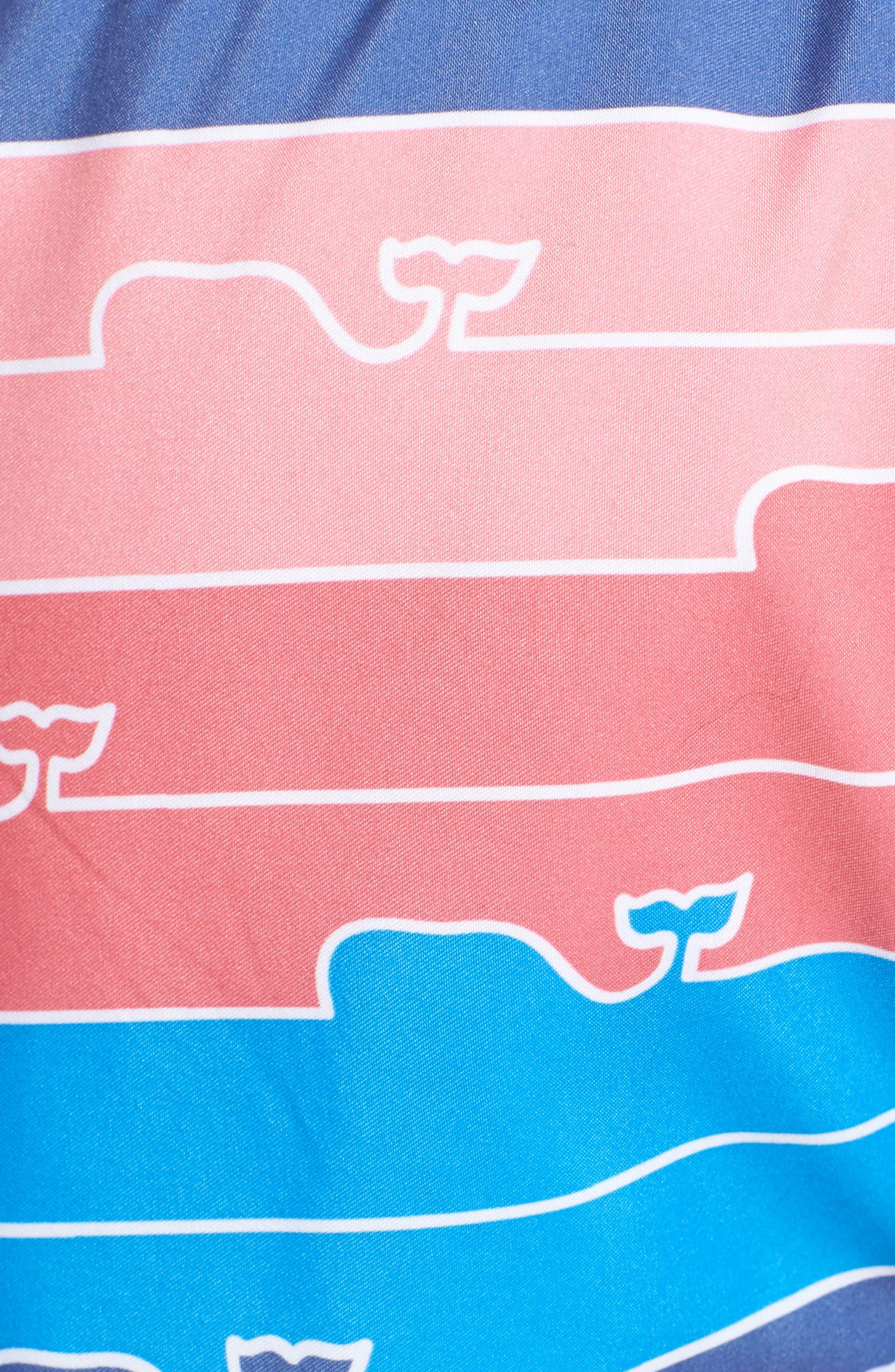 Chappy Whaleline Swim Trunks,                             Alternate thumbnail 5, color,                             461