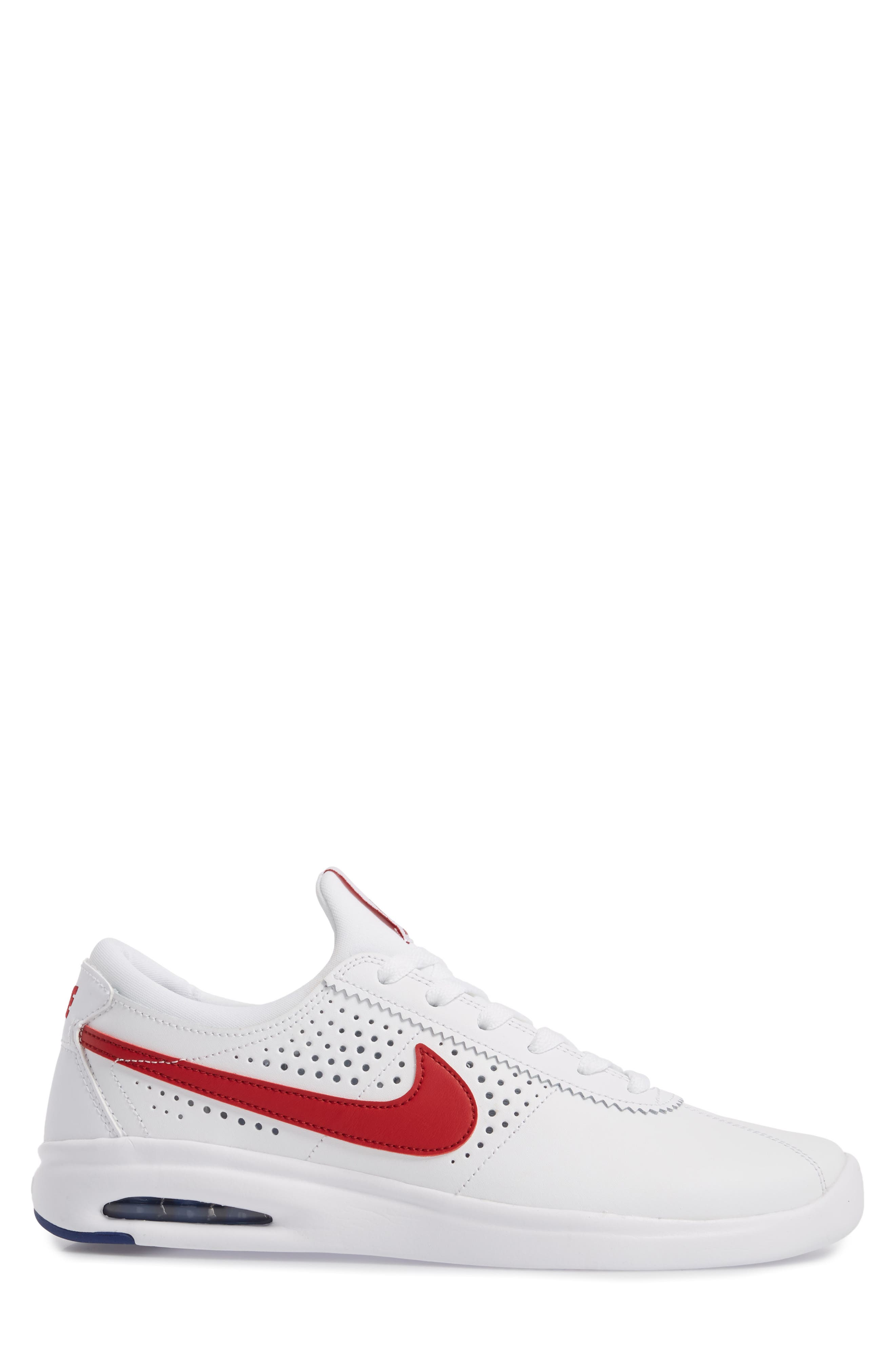SB Air Max Bruin Vapor Skateboarding Sneaker,                             Alternate thumbnail 3, color,                             100