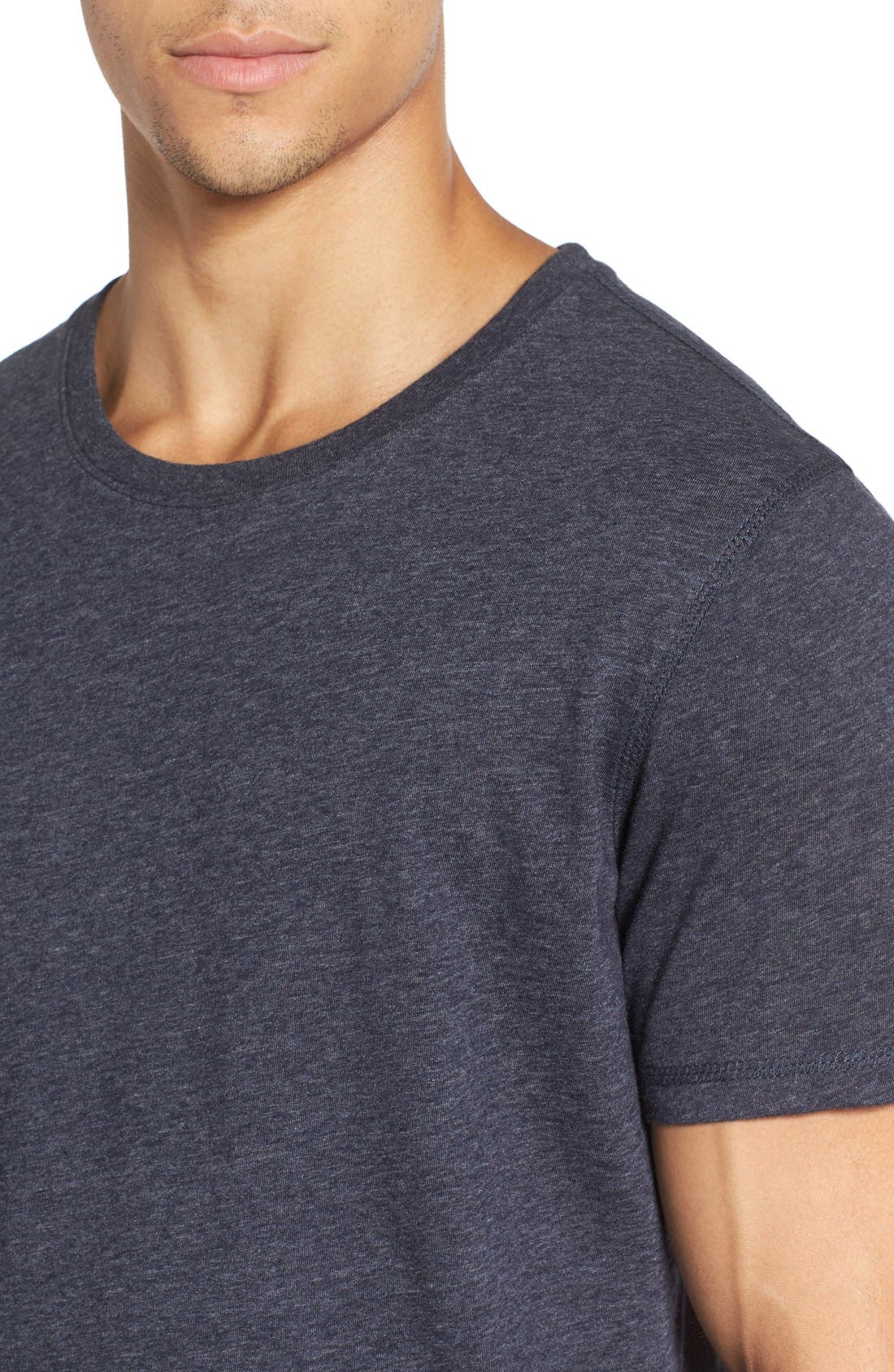 Recycled Cotton Blend T-Shirt,                             Alternate thumbnail 11, color,