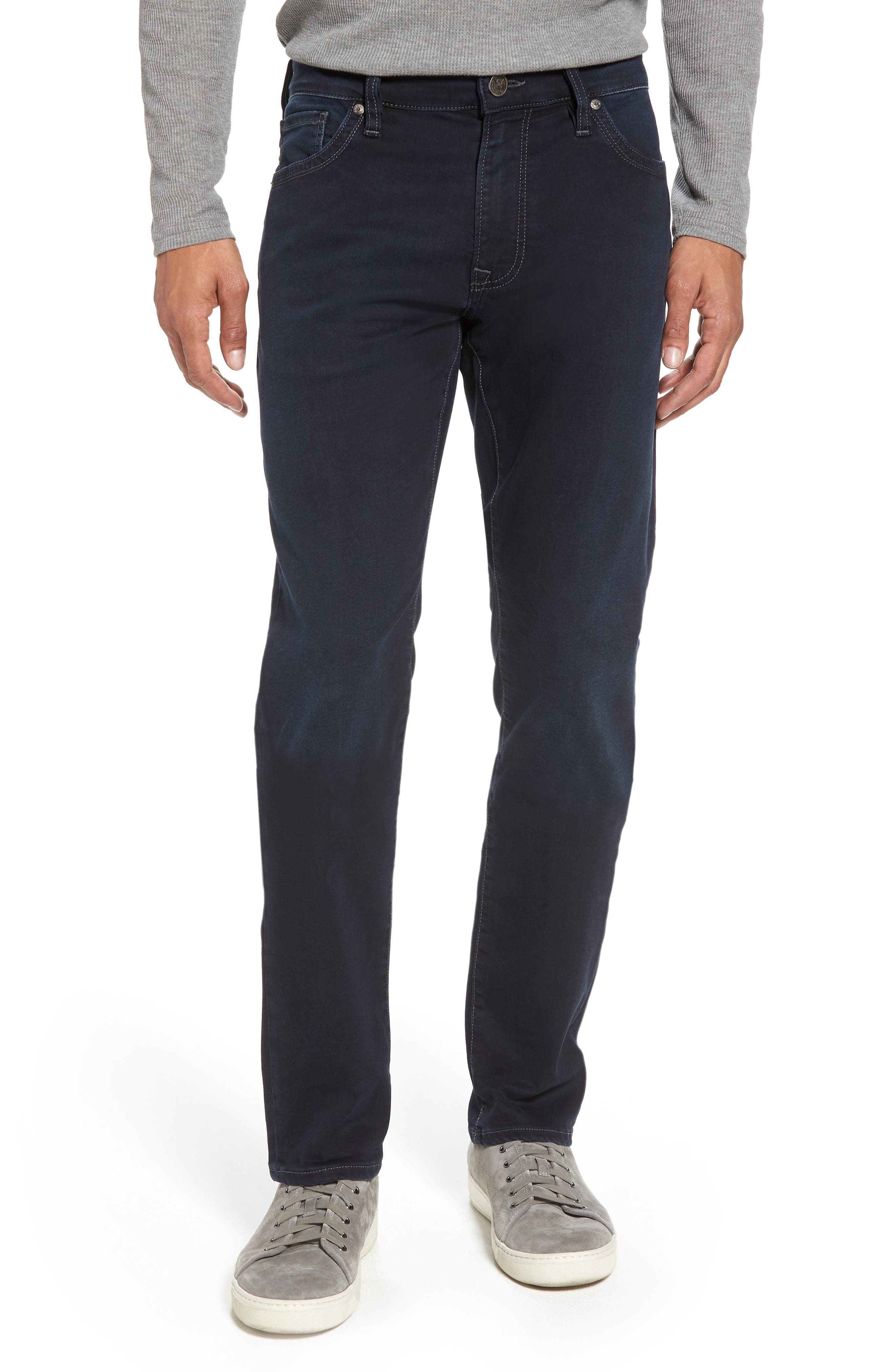 Cool Slim Straight Leg Jeans,                         Main,                         color, MIDNIGHT AUSTIN