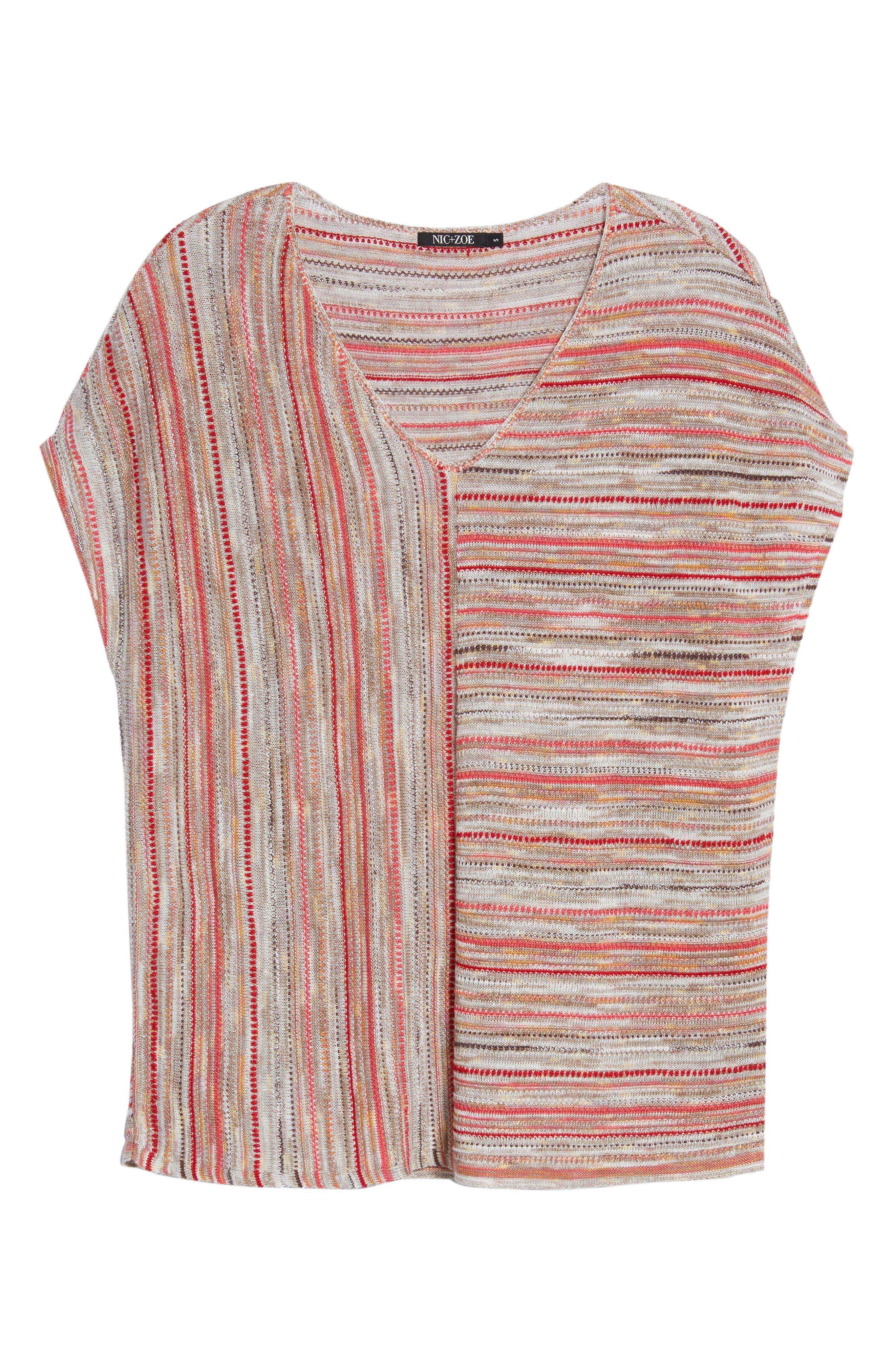 Arizona Sunset Knit Top,                             Alternate thumbnail 6, color,                             600