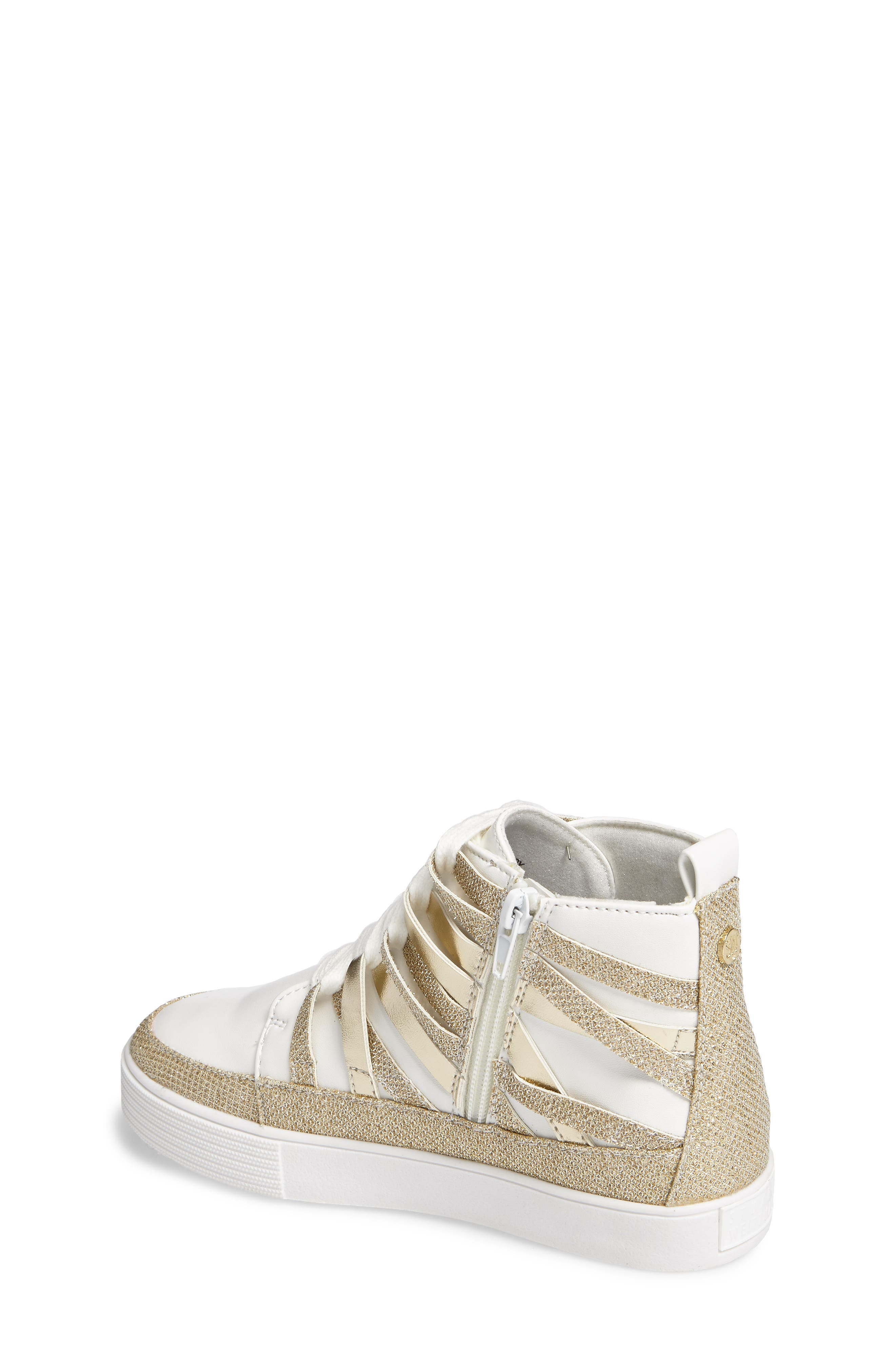 Vance Strappy High Top Sneaker,                             Alternate thumbnail 2, color,                             711