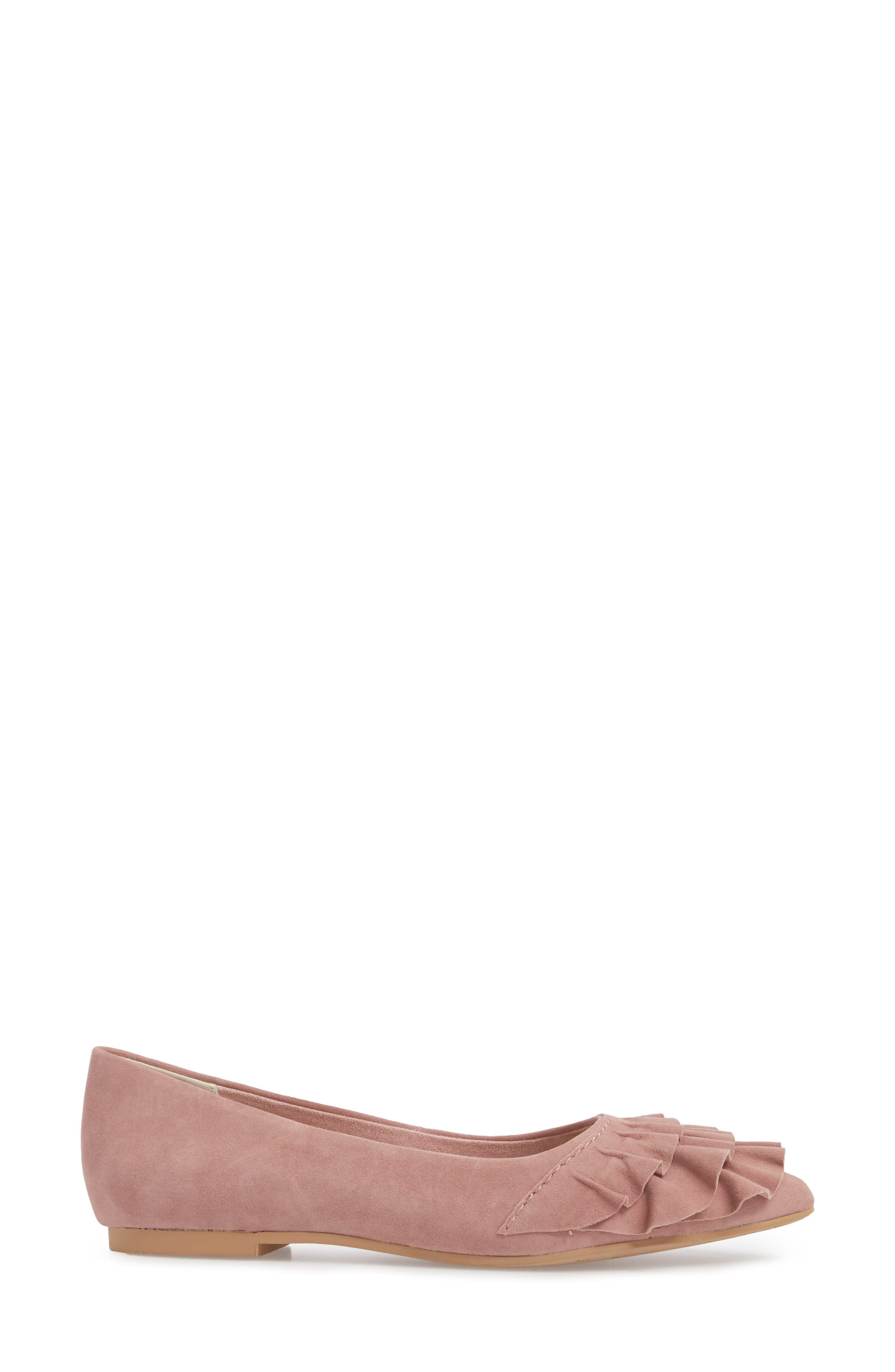 Downstage Pointy Toe Flat,                             Alternate thumbnail 15, color,