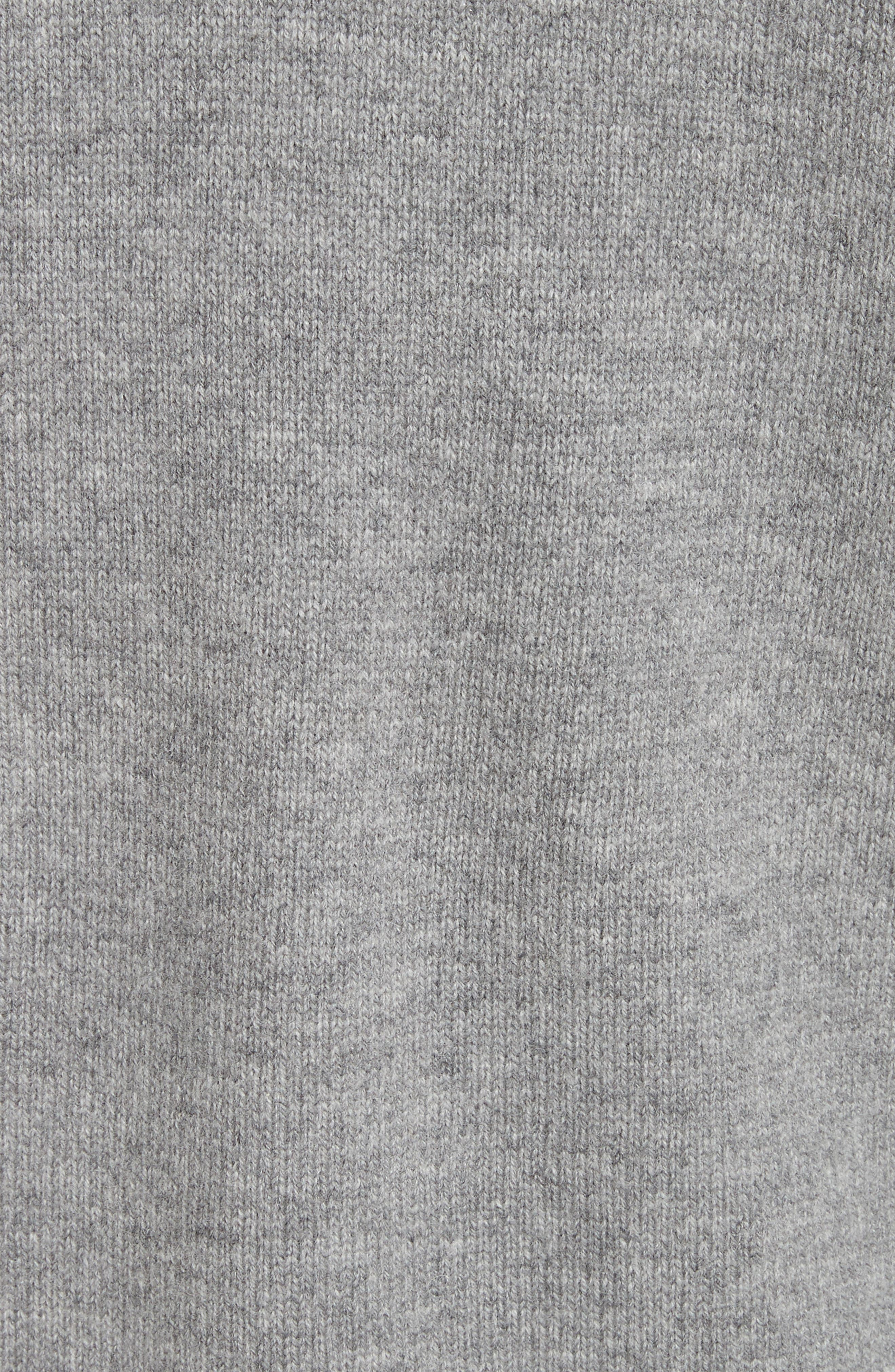 Beaded Wool & Cashmere Sweater,                             Alternate thumbnail 5, color,                             020