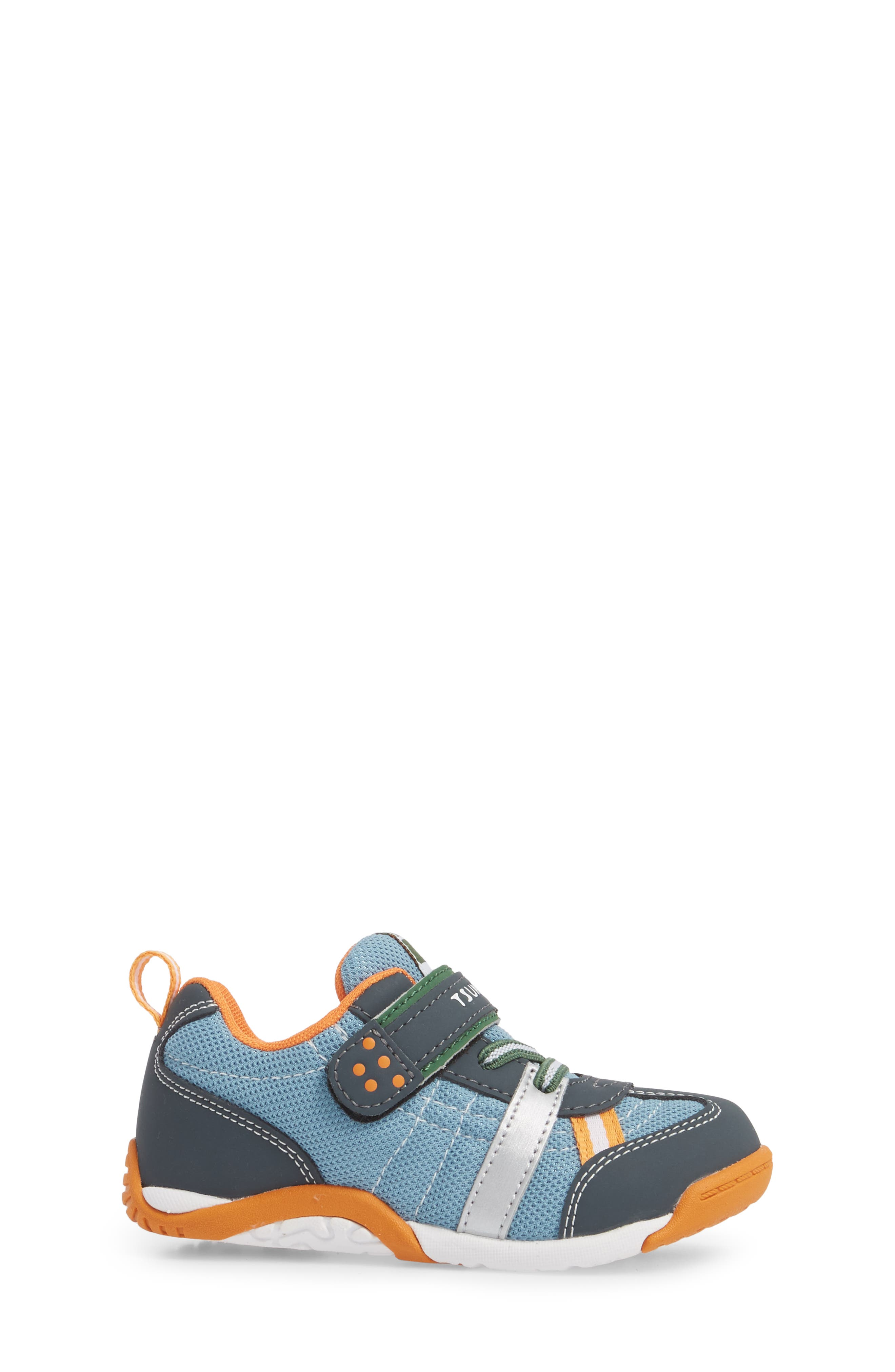 Kaz Washable Sneaker,                             Alternate thumbnail 3, color,                             CHARCOAL/ SEA