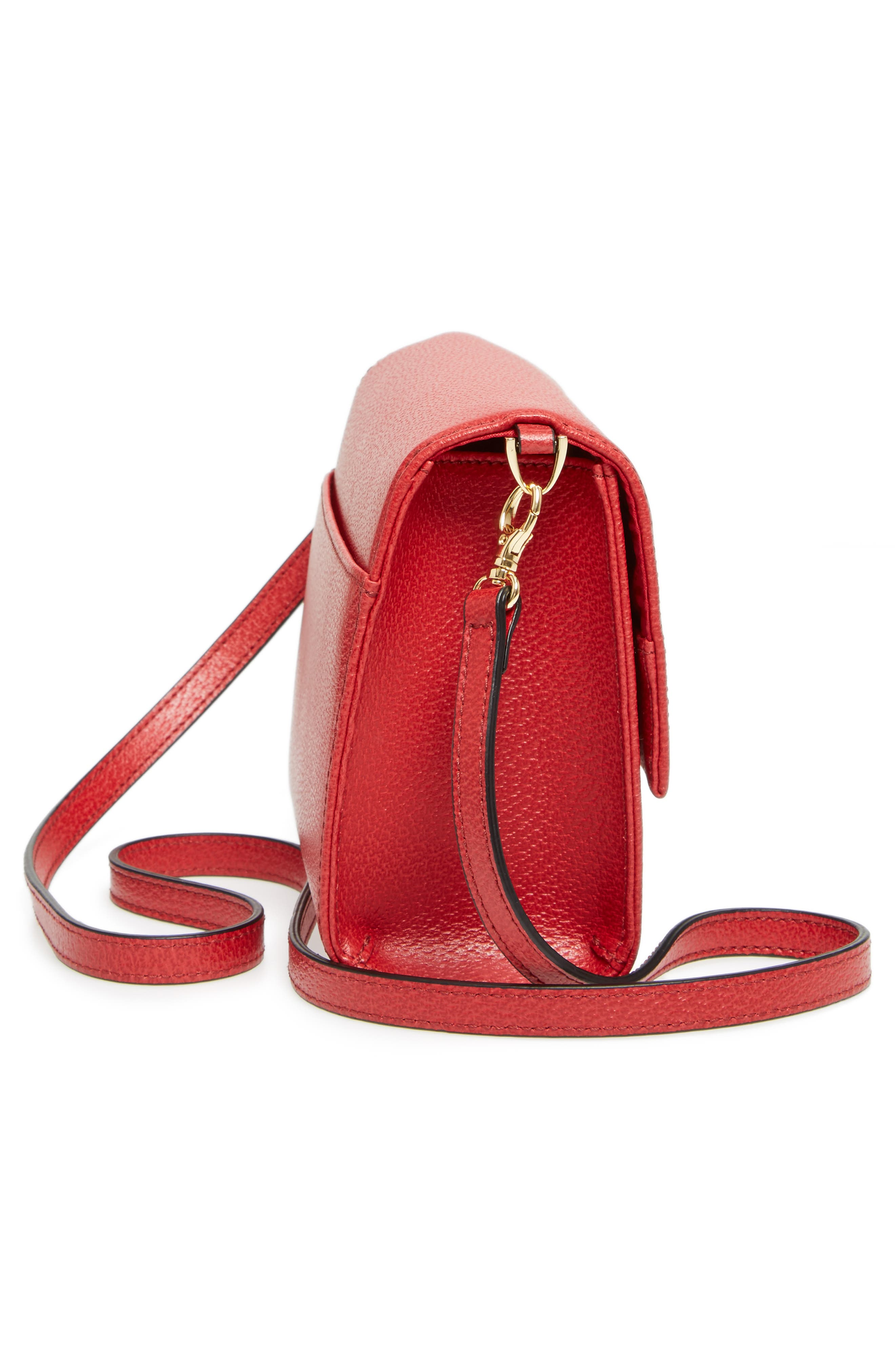 LODIS Stephanie Under Lock & Key - Small Eden Leather Crossbody Bag,                             Alternate thumbnail 5, color,                             600
