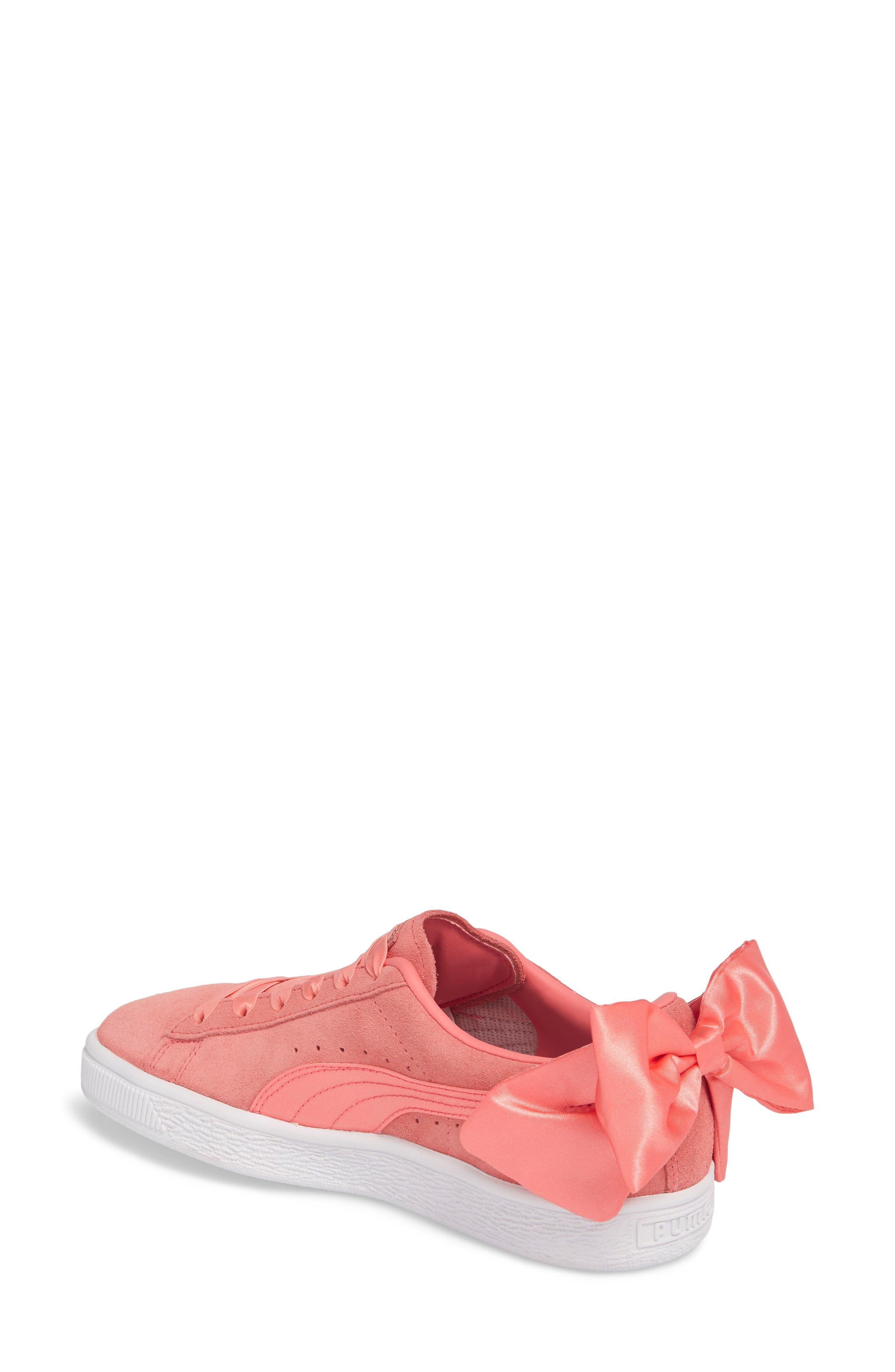 Bow Sneaker,                             Alternate thumbnail 6, color,