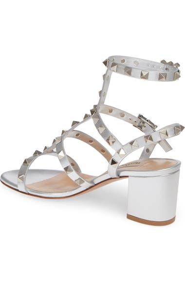 80c06724fe43 VALENTINO GARAVANI Rockstud Block Heel Sandal (Women)