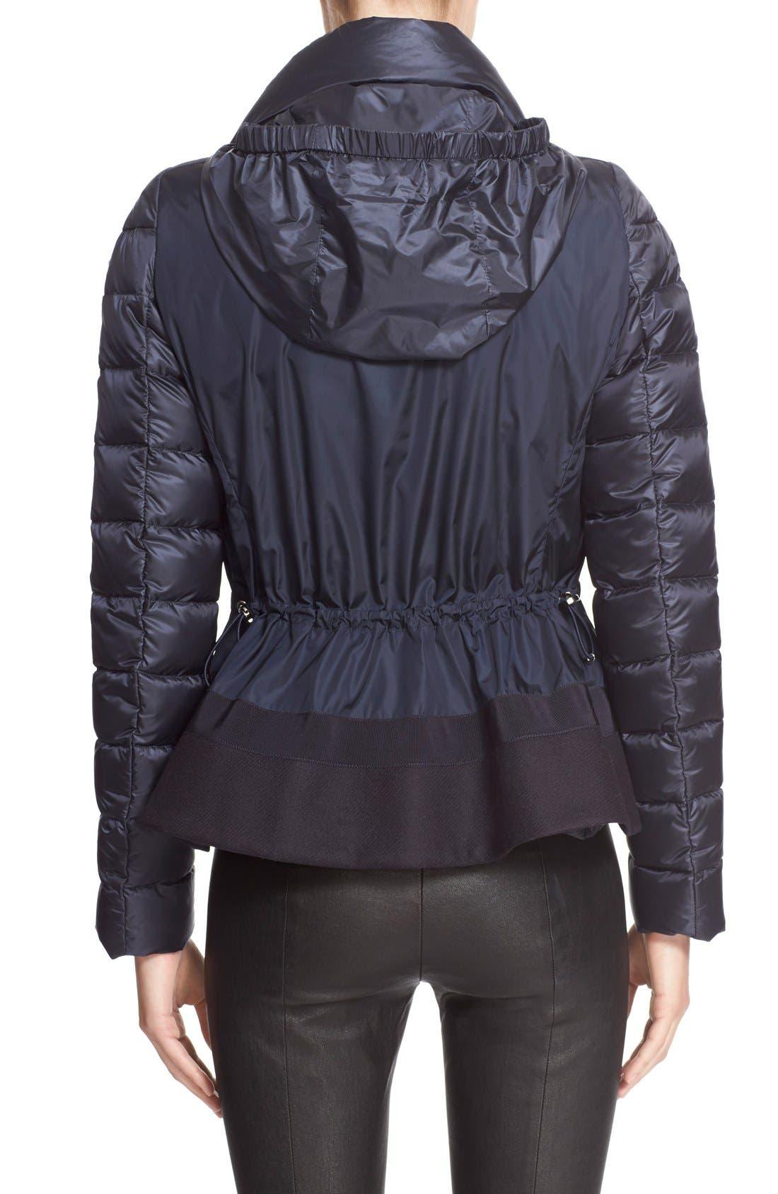 'Agape' Water Resistant Hooded Down Jacket,                             Alternate thumbnail 2, color,                             419