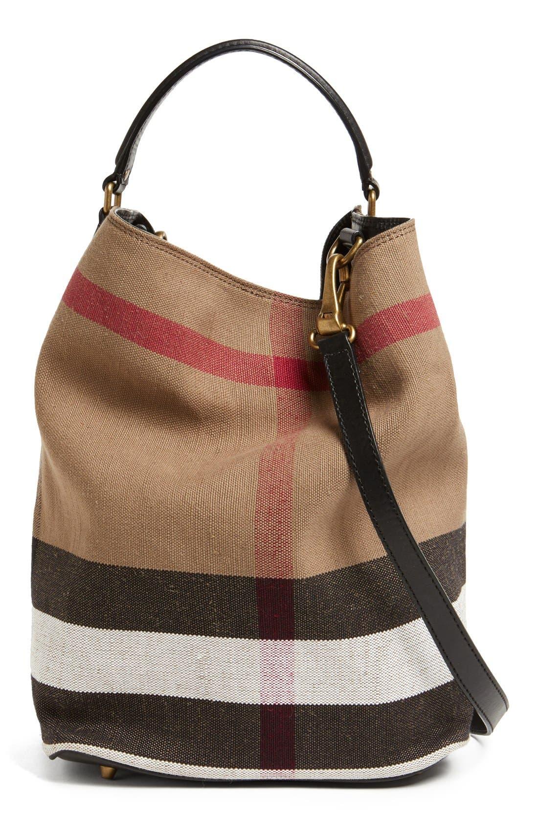 'Susanna - Medium' Bucket Bag,                             Main thumbnail 1, color,                             001