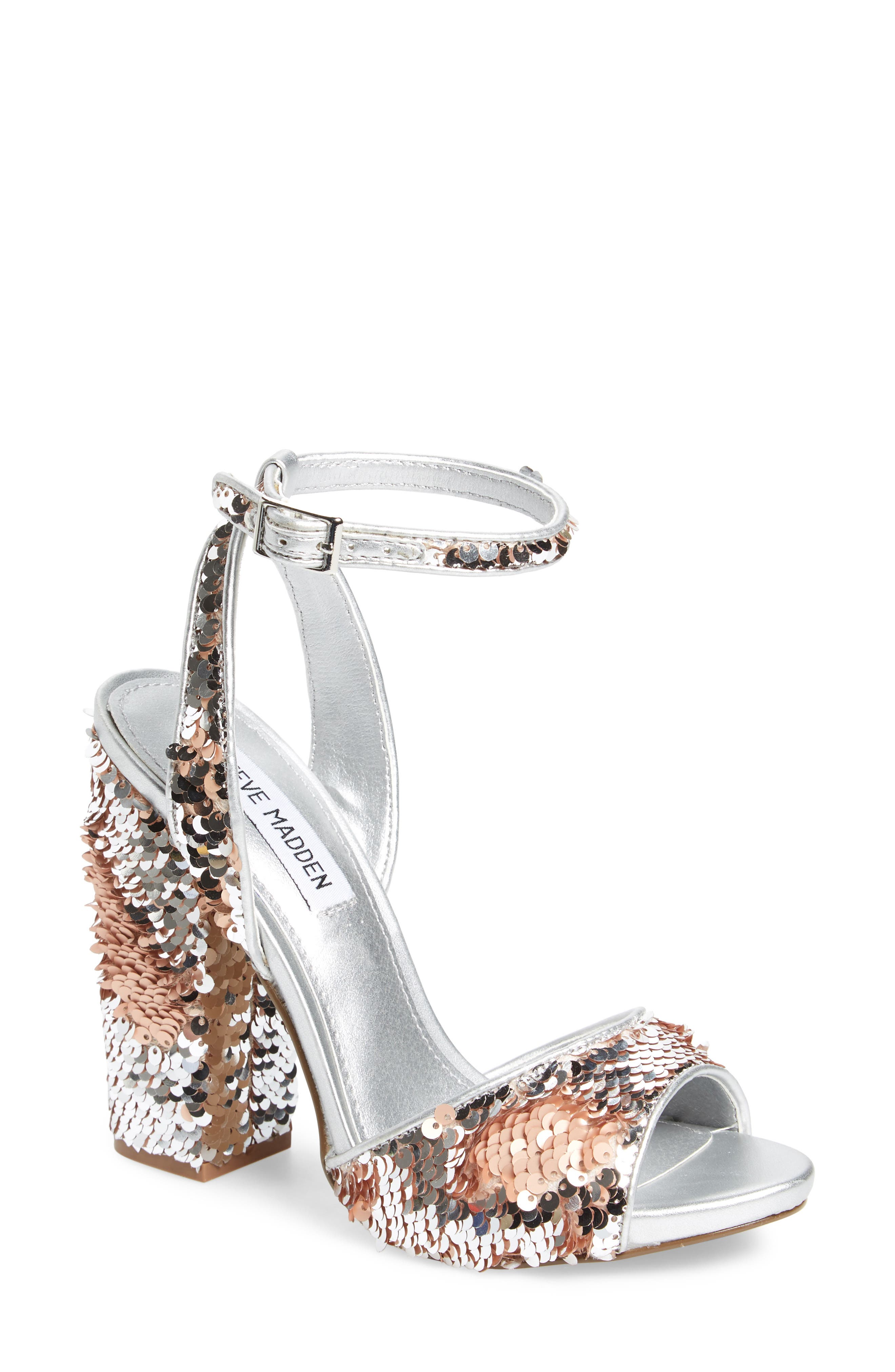 Ritzy Flip Sequin Sandal,                             Main thumbnail 1, color,                             040