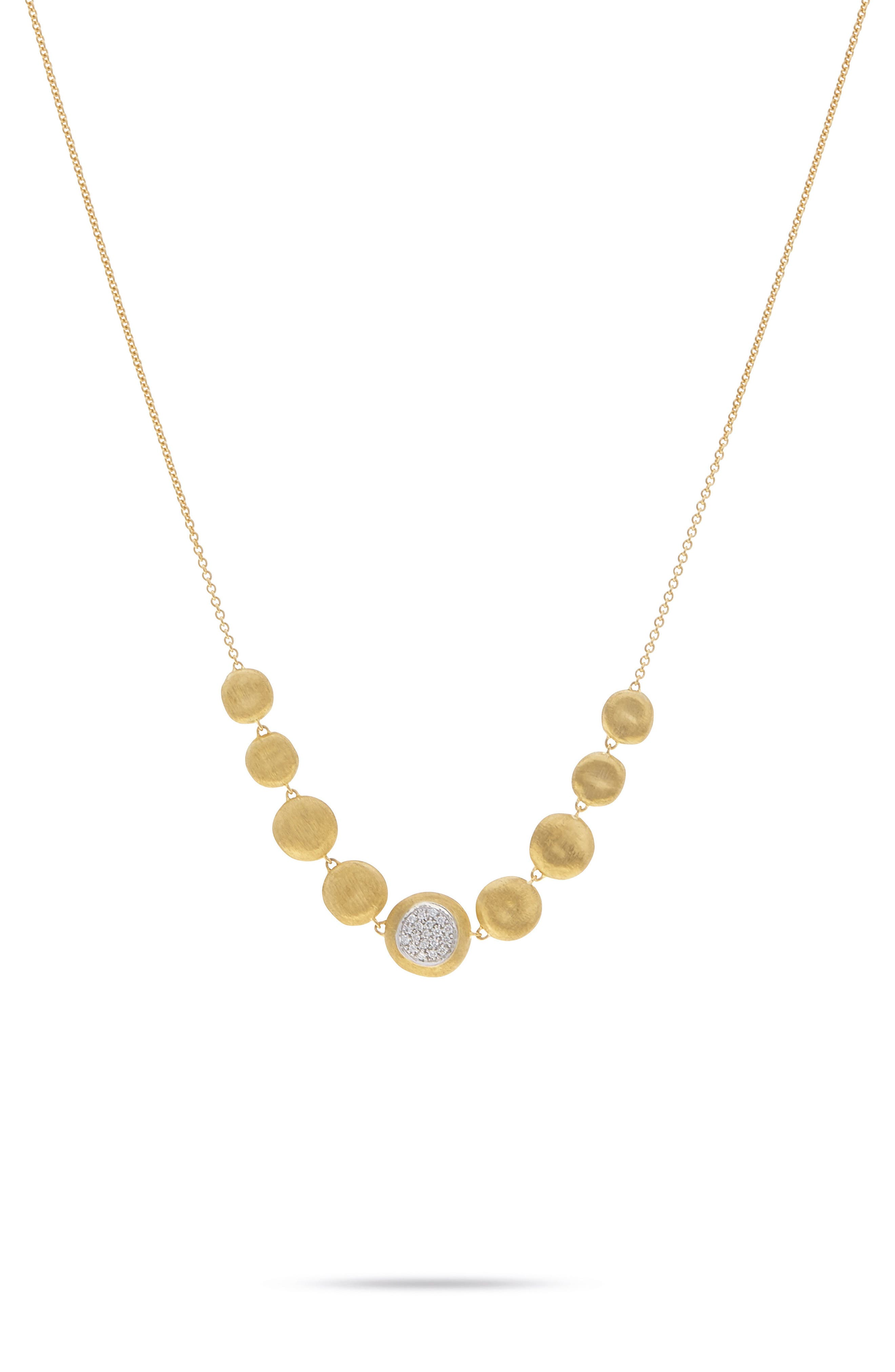 Jaipur 18K Gold & Diamond Necklace,                         Main,                         color, YELLOW GOLD