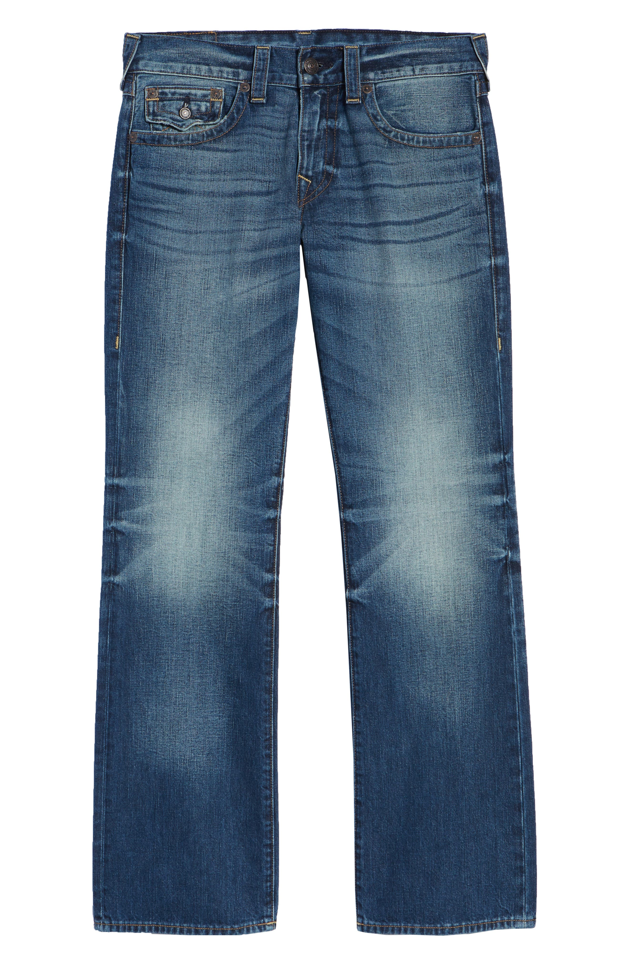 Billy Bootcut Jeans,                             Alternate thumbnail 6, color,                             BLUE REBEL