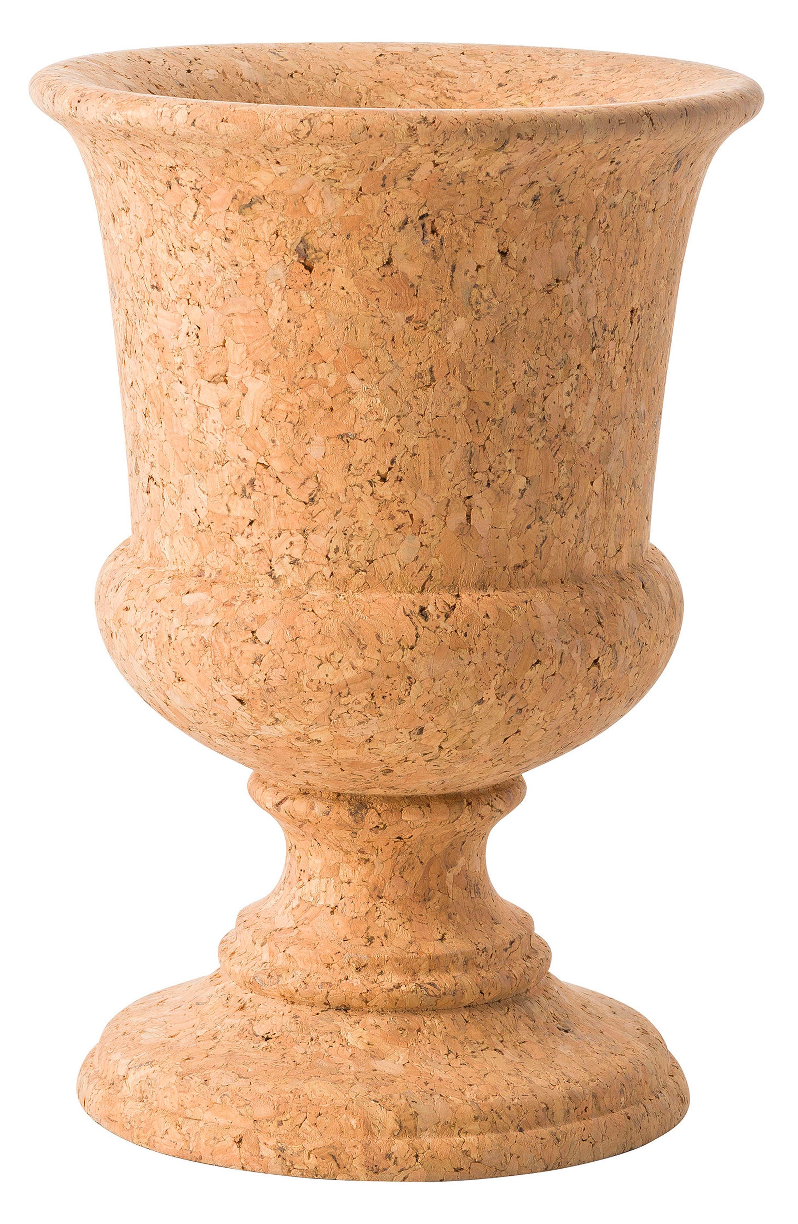 Quinta Natural Cork Urn,                             Main thumbnail 1, color,                             200