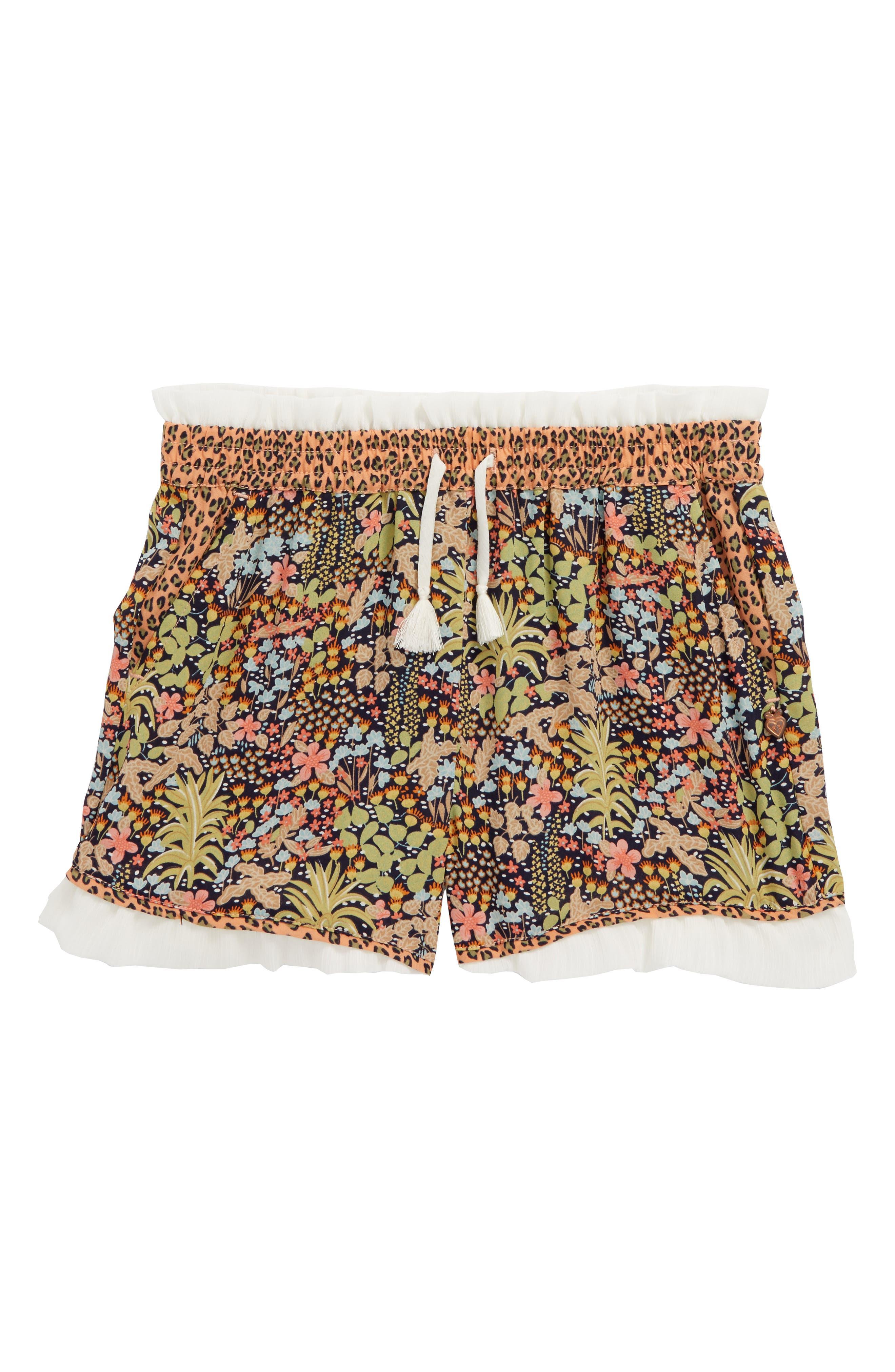 Jungle Print Shorts,                         Main,                         color, 950