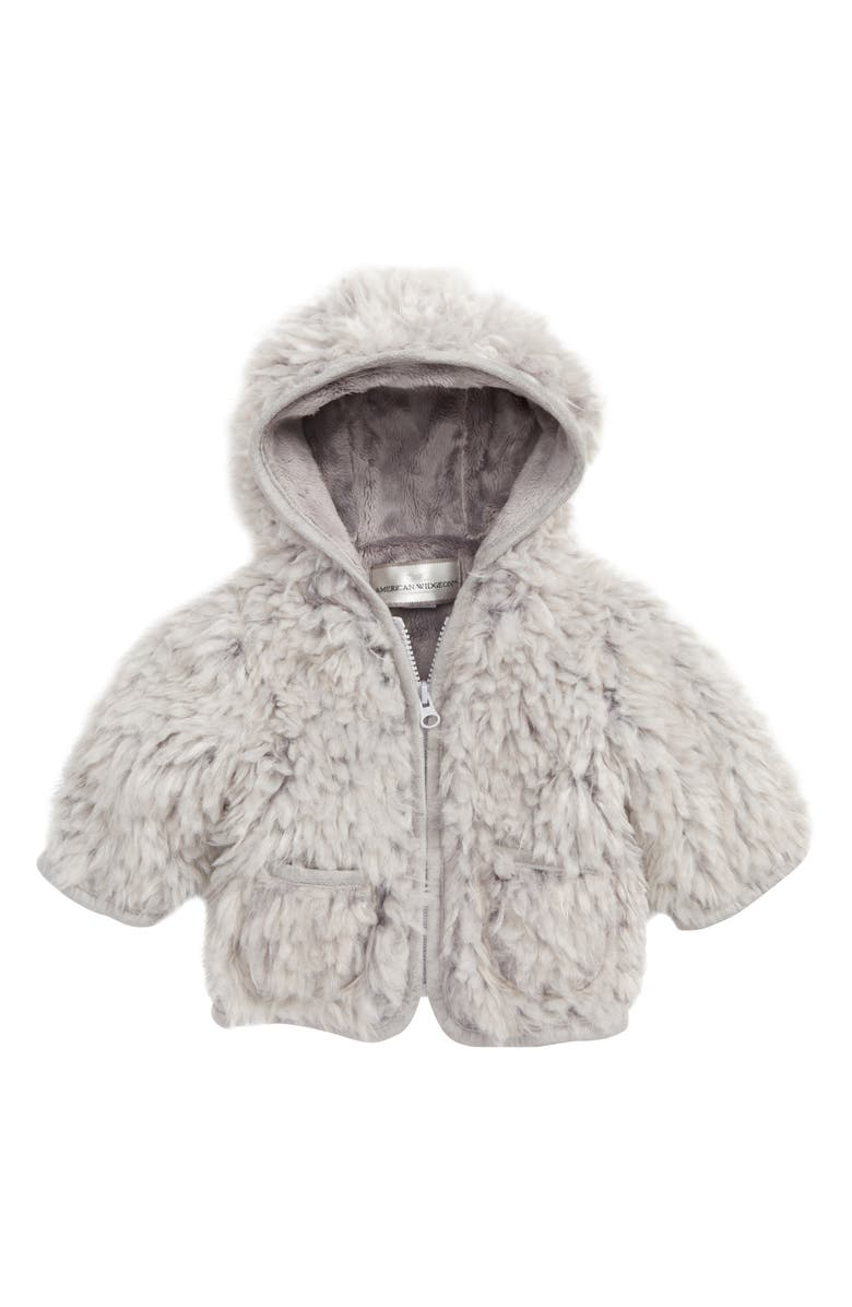 c2df719c3 Widgeon Hooded Faux Fur Jacket (Baby Girls)