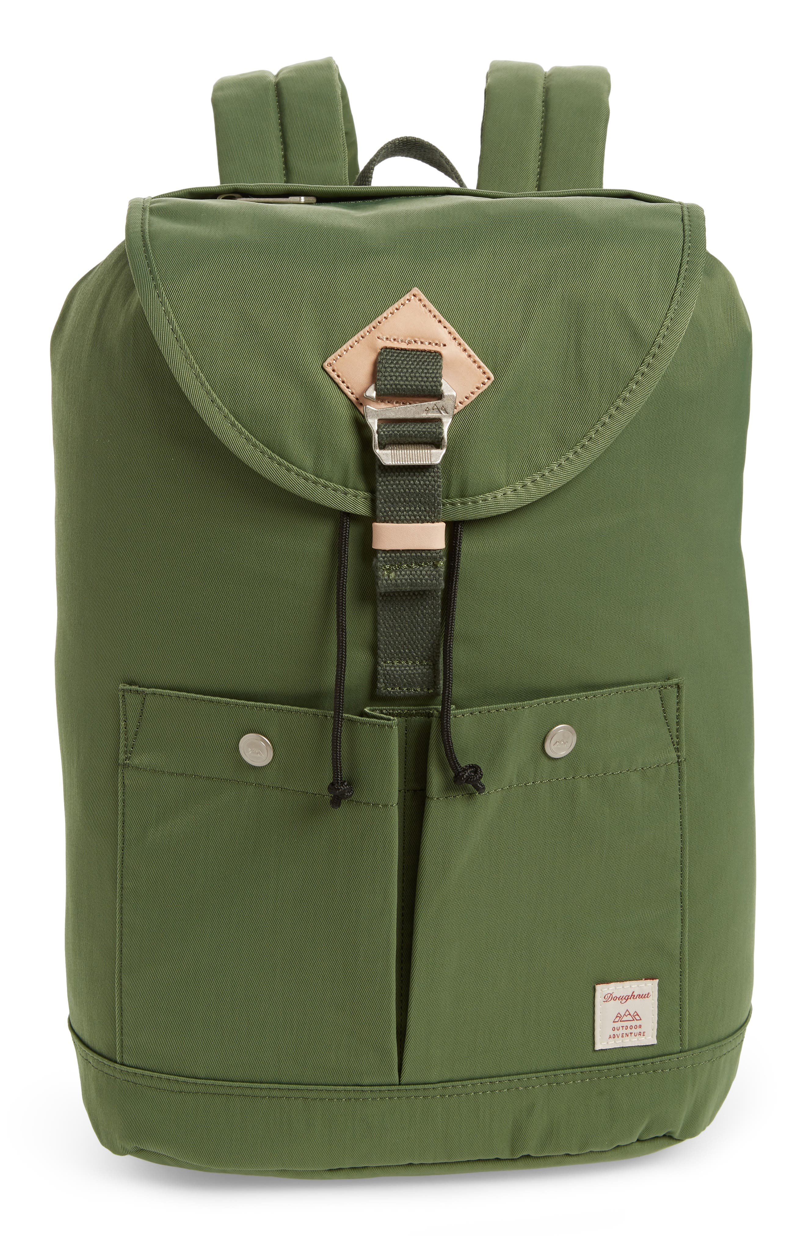 Montana Water Repellent Backpack,                         Main,                         color, ARMY
