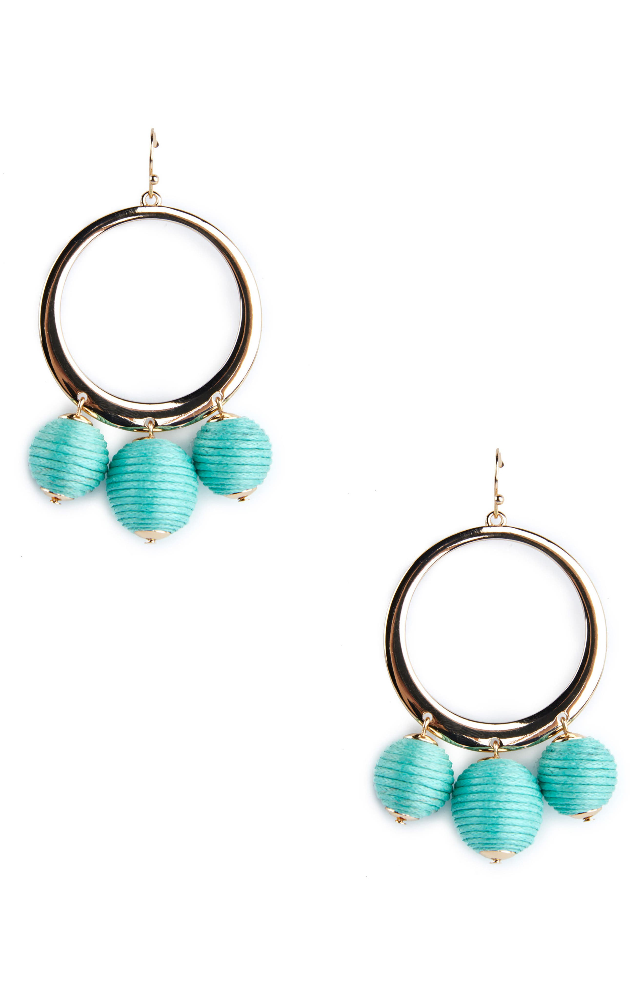 Hoop Earrings,                             Main thumbnail 1, color,                             441