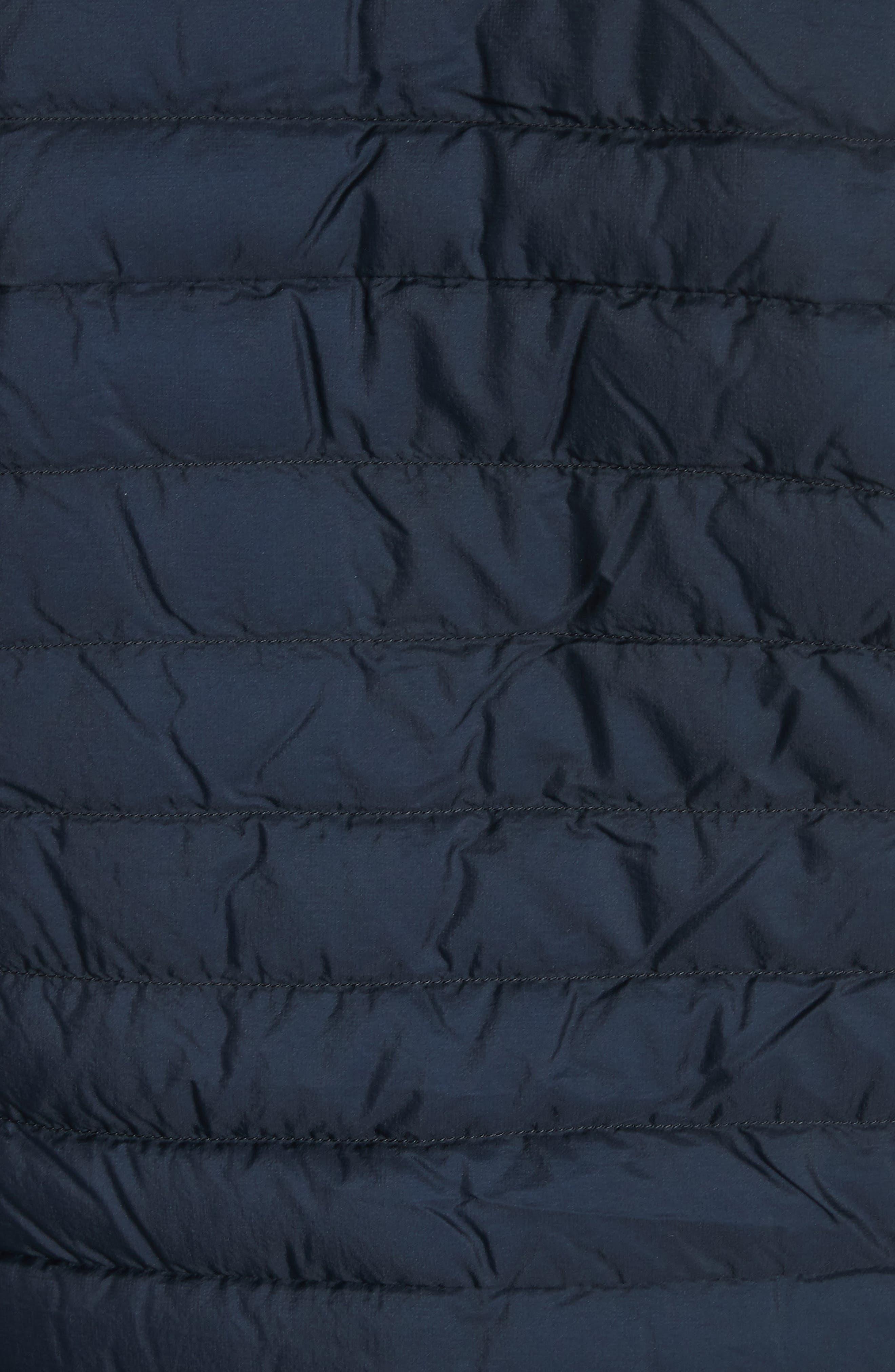 Conduit Lightweight Down Vest,                             Alternate thumbnail 8, color,                             DARK NAVY
