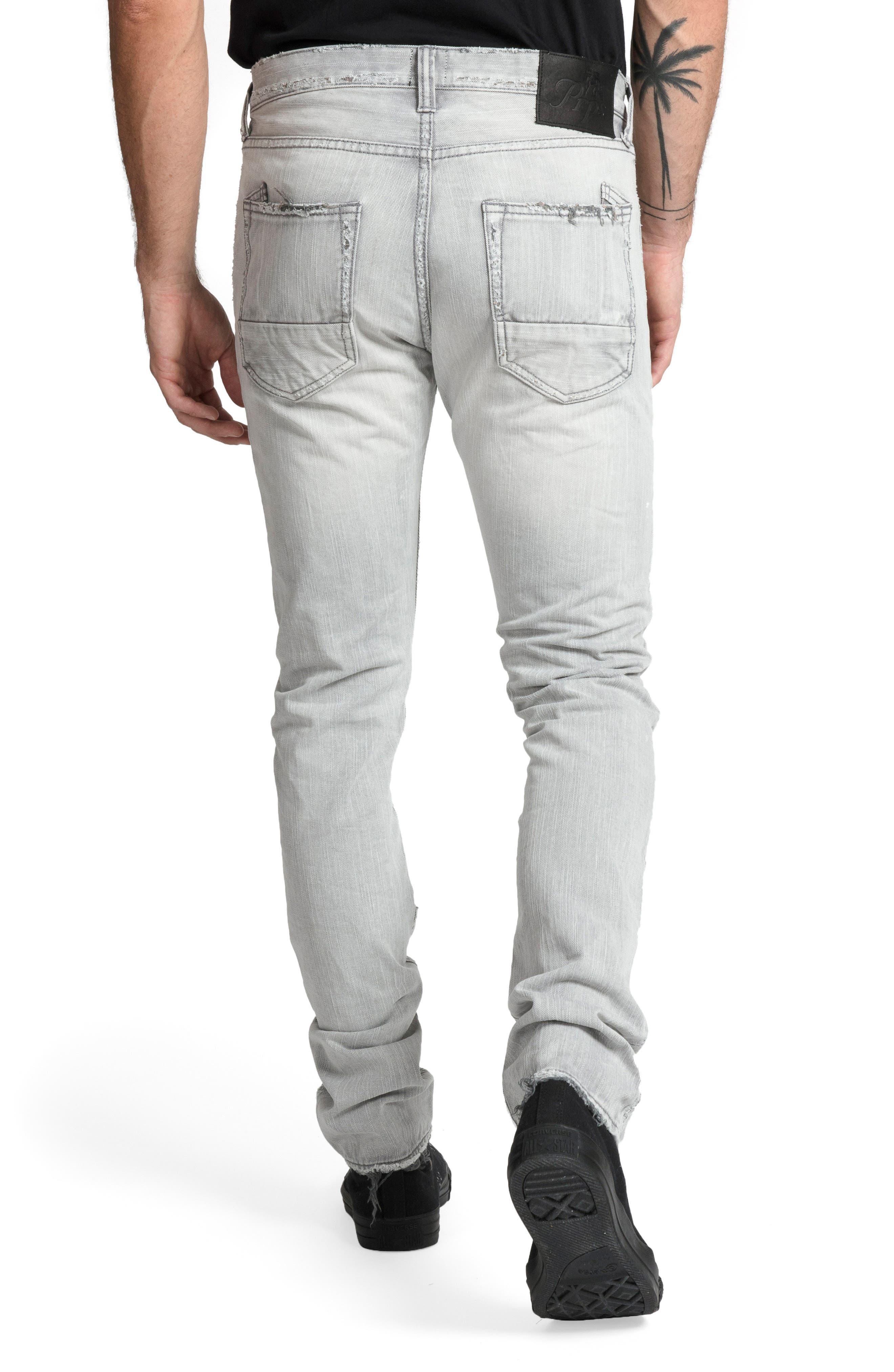 Le Sabre Slim Fit Jeans,                             Alternate thumbnail 2, color,                             LOUTISH