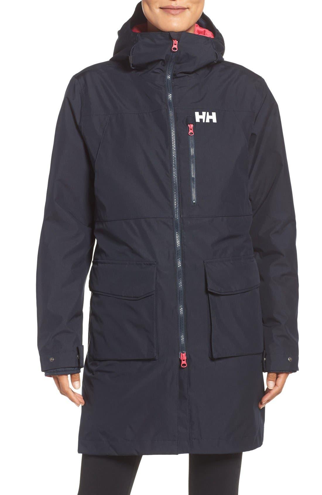 Rigging Waterproof 3-in-1 Raincoat,                             Main thumbnail 4, color,