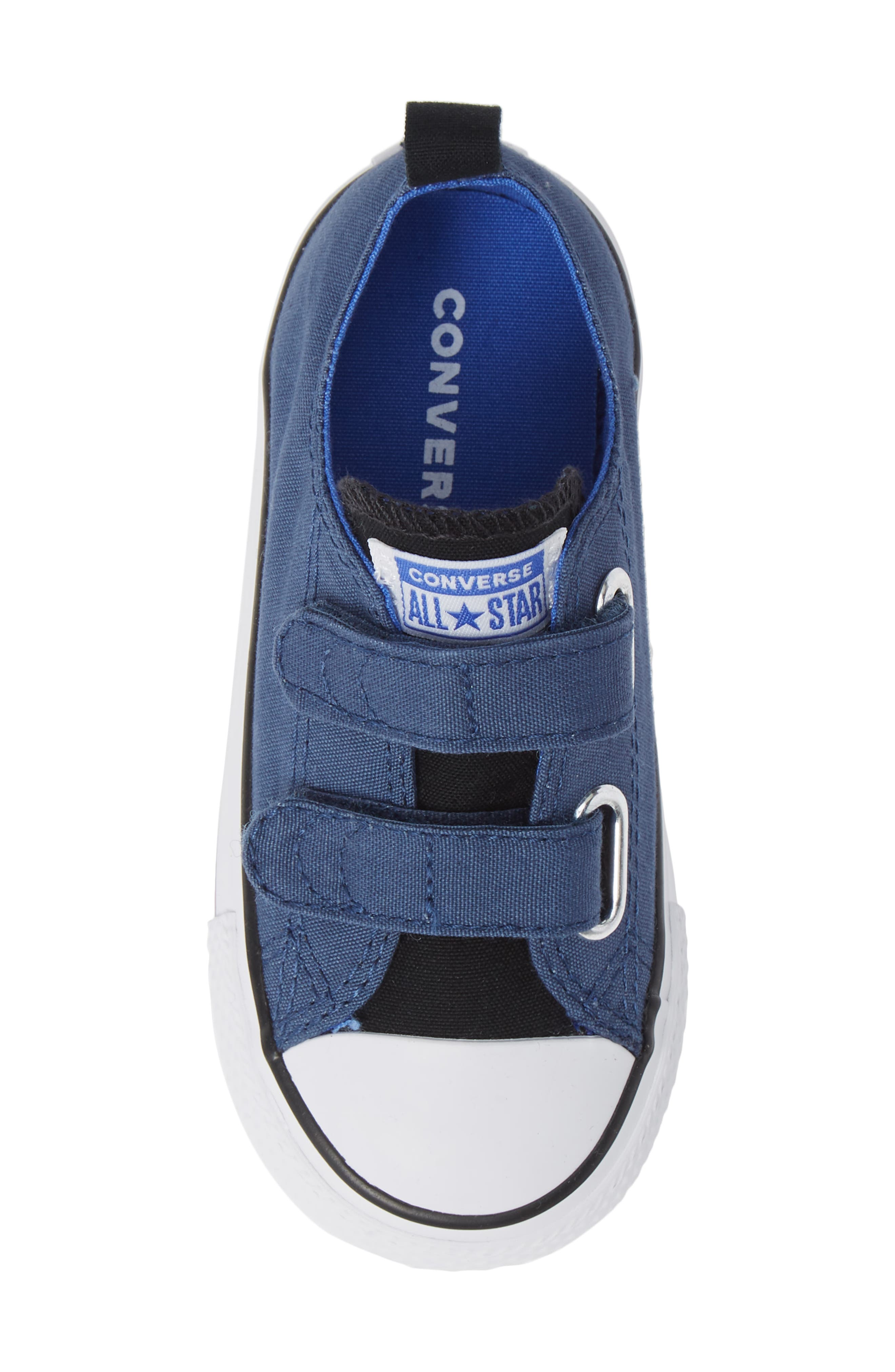Chuck Taylor<sup>®</sup> 'Double Strap' Sneaker,                             Alternate thumbnail 5, color,                             MASON BLUE