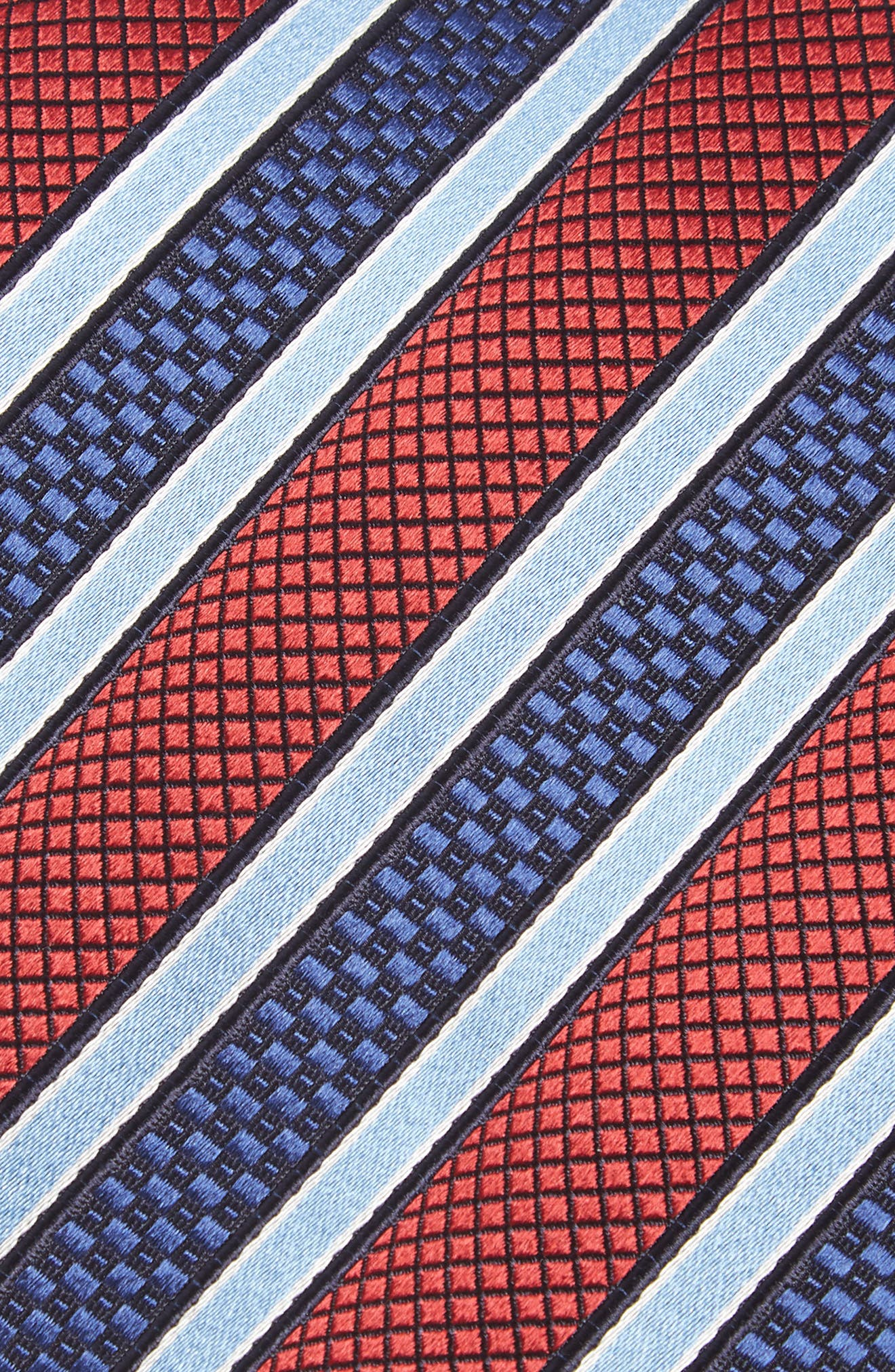 Stripe Silk Tie,                             Alternate thumbnail 2, color,                             600