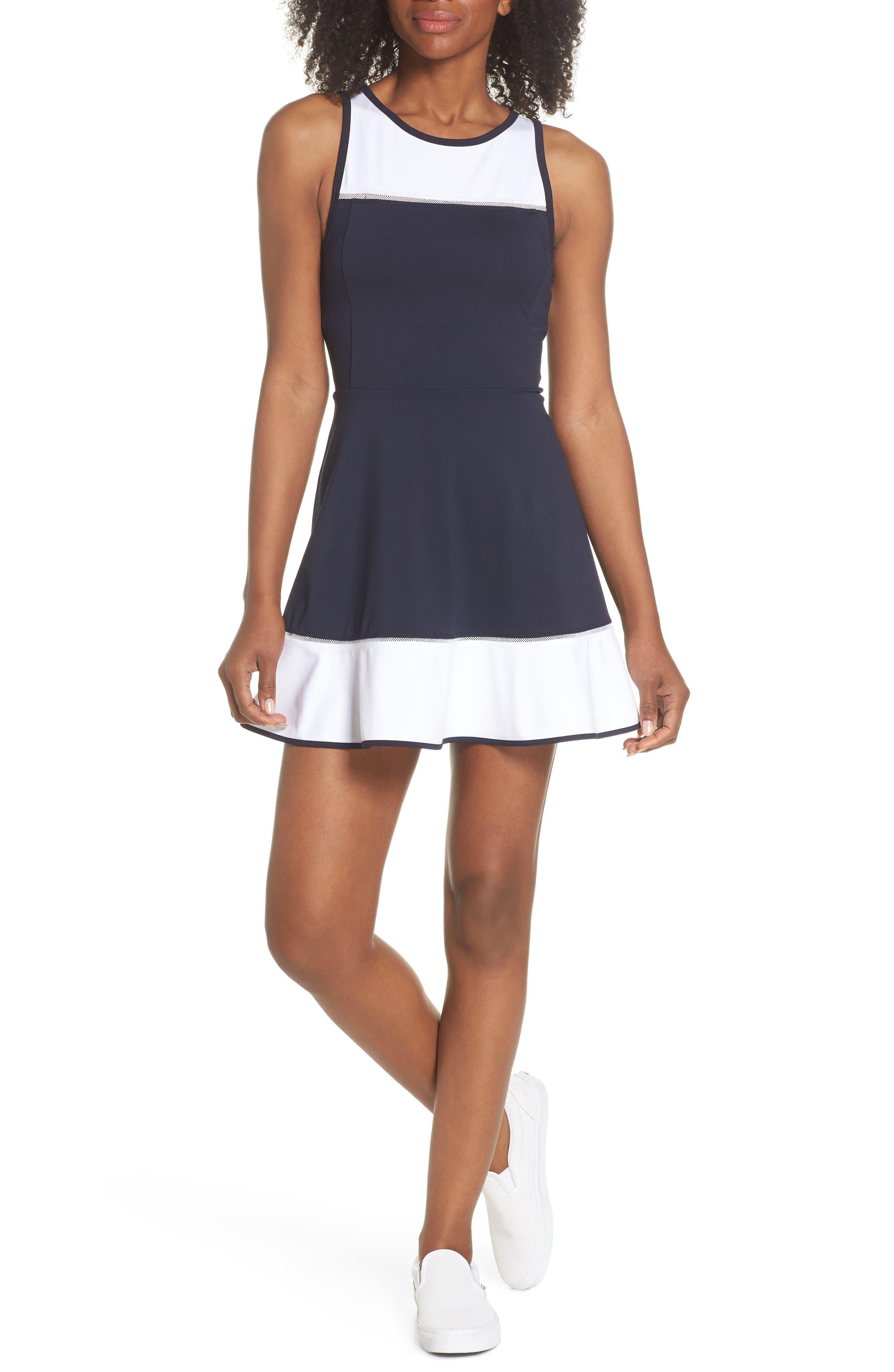 colorblock dress,                             Main thumbnail 1, color,                             476