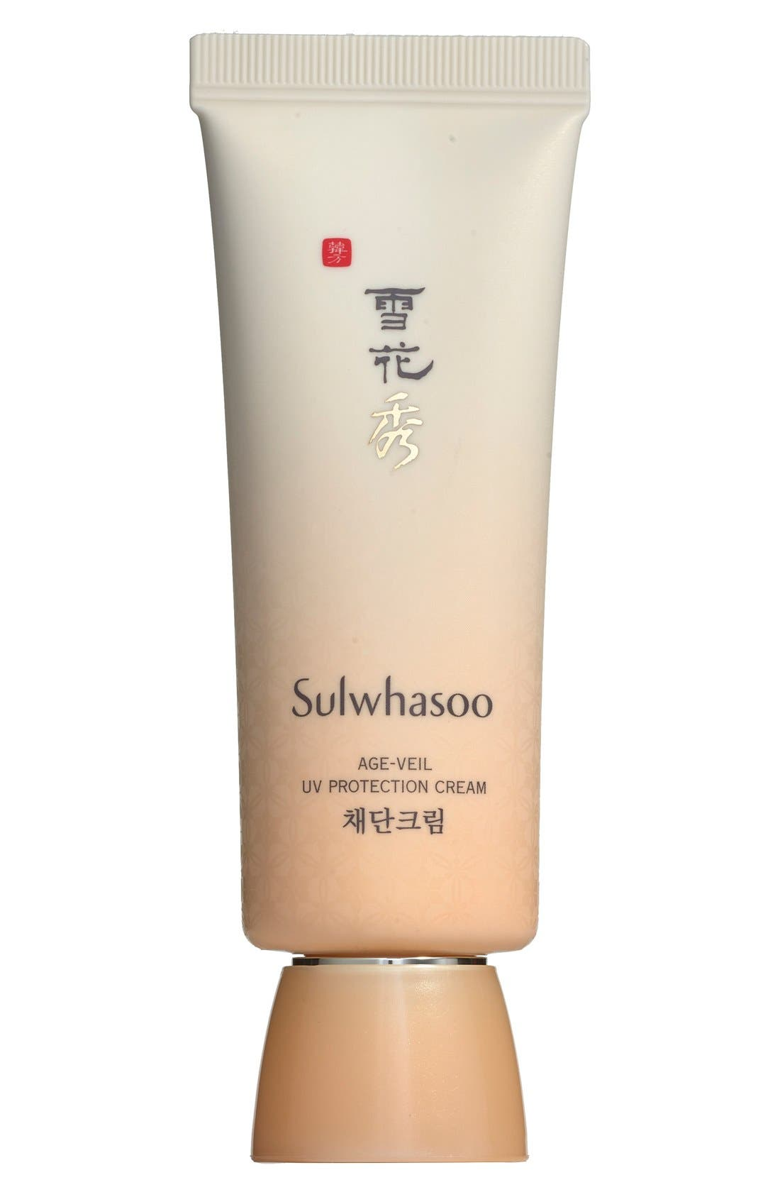 'Age-Veil' UV Protection Cream SPF 30,                             Main thumbnail 1, color,