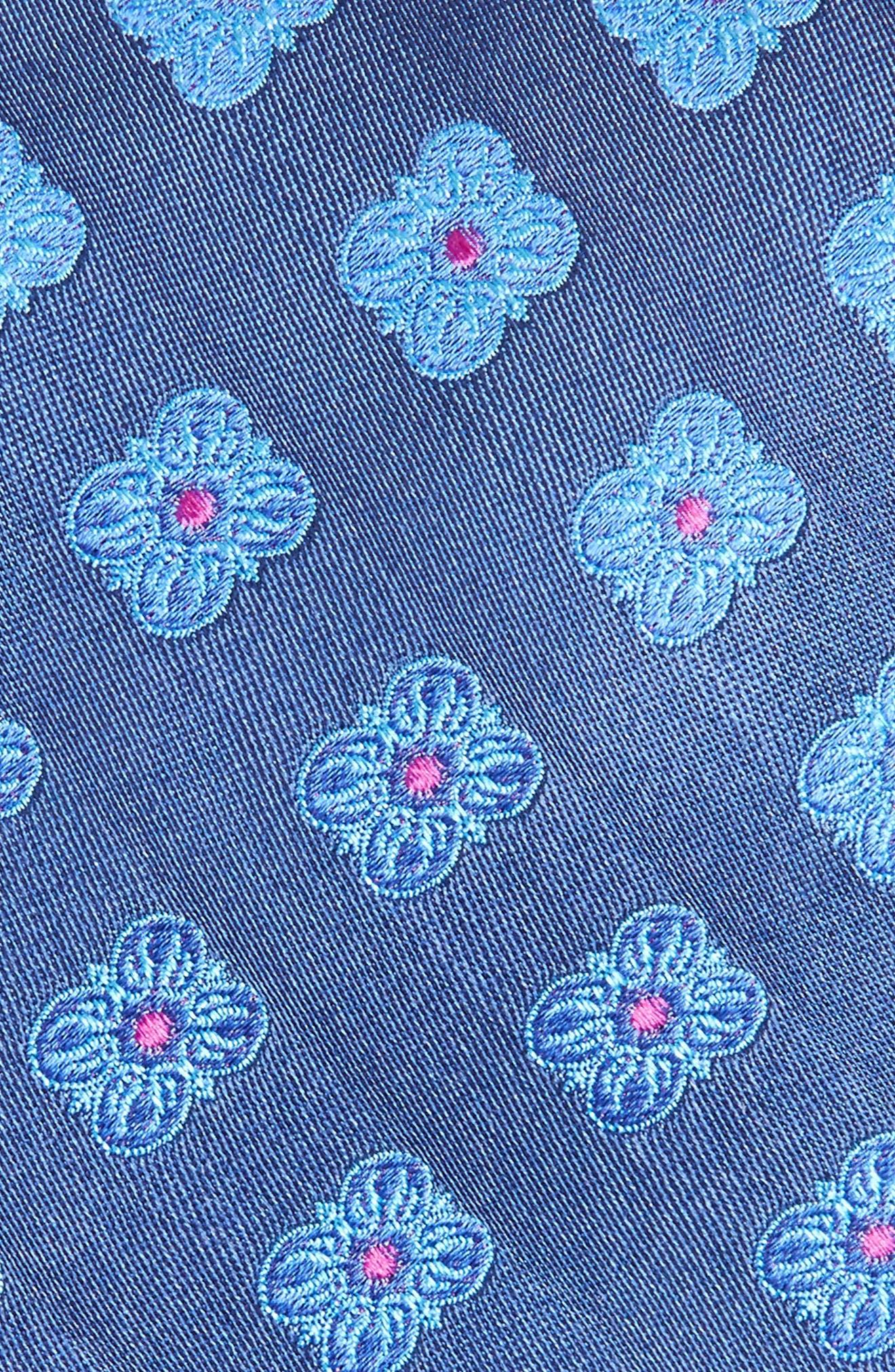 Cameron Floral Medallion Silk Tie,                             Alternate thumbnail 11, color,