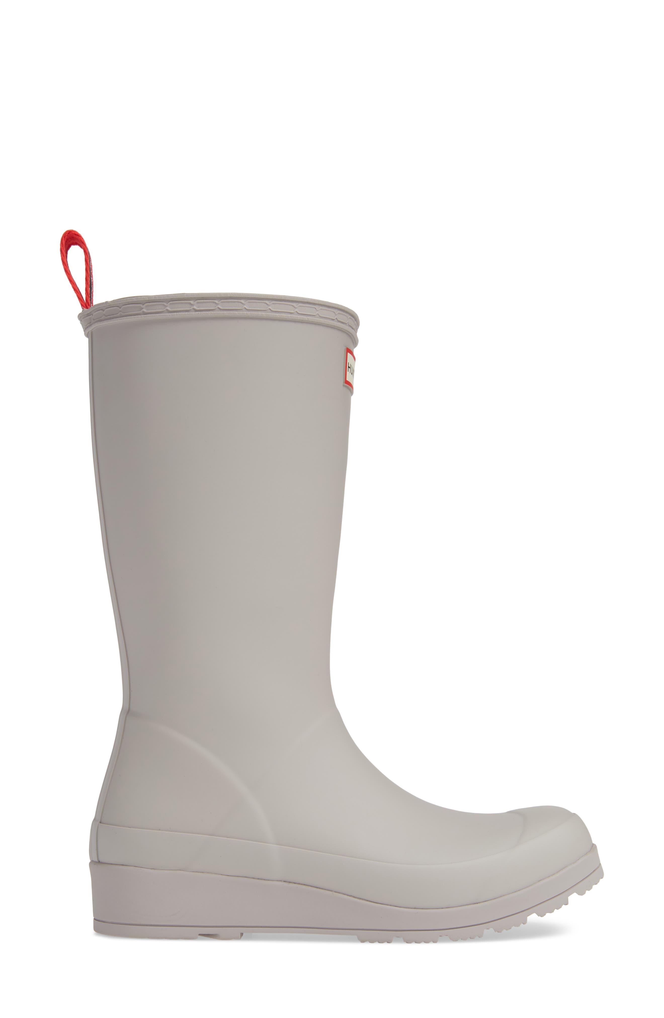 Original Play Tall Waterproof Rain Boot,                             Alternate thumbnail 3, color,                             ZINC