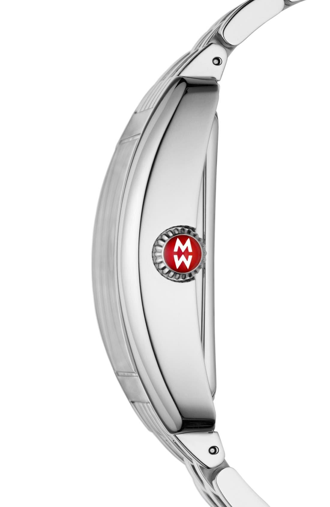 'Urban Diamond' Diamond Dial Watch Case, 36mm x 37mm,                             Alternate thumbnail 3, color,                             040