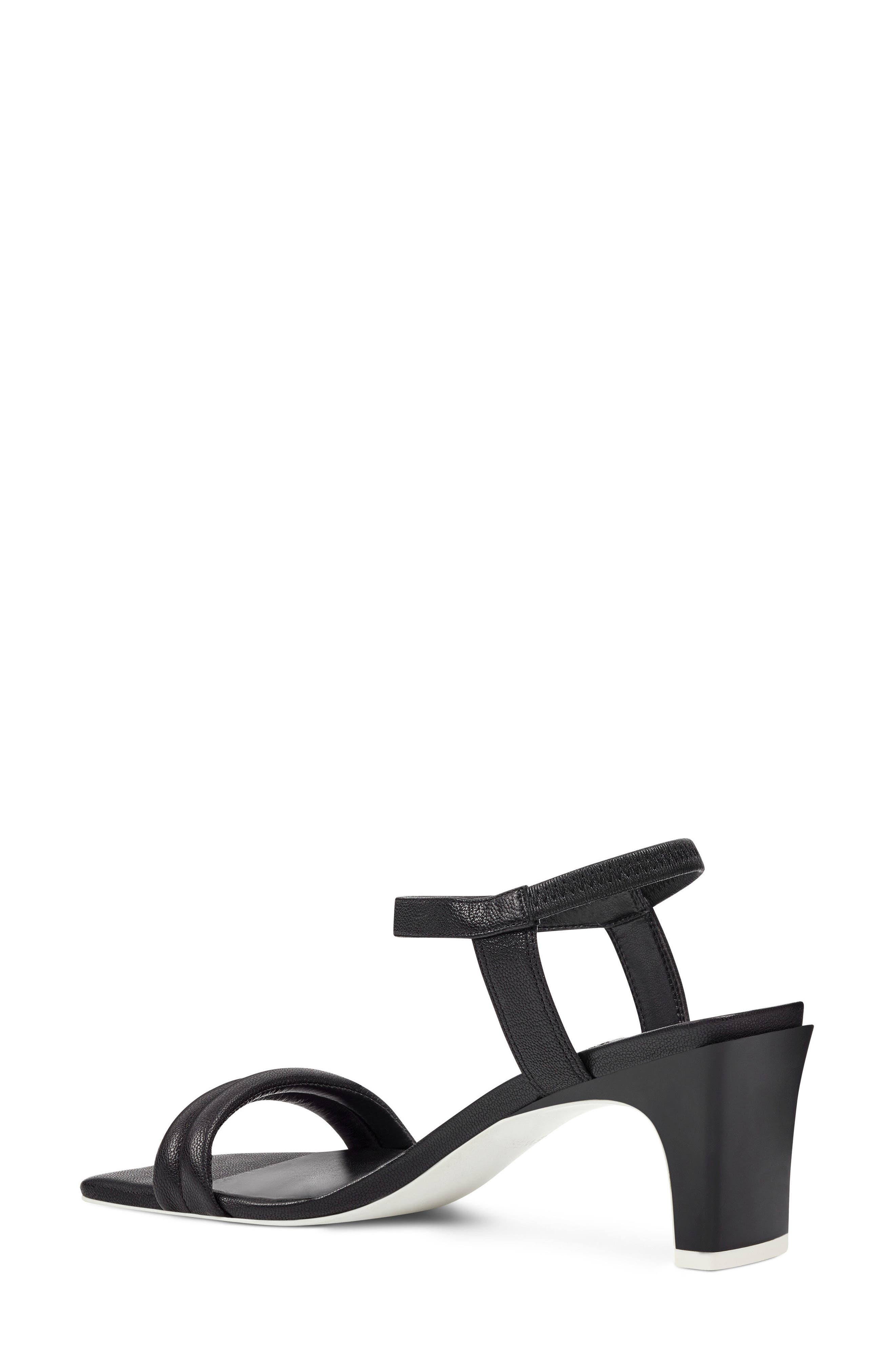 Urgreat Ankle Strap Sandal,                             Alternate thumbnail 2, color,                             BLACK LEATHER