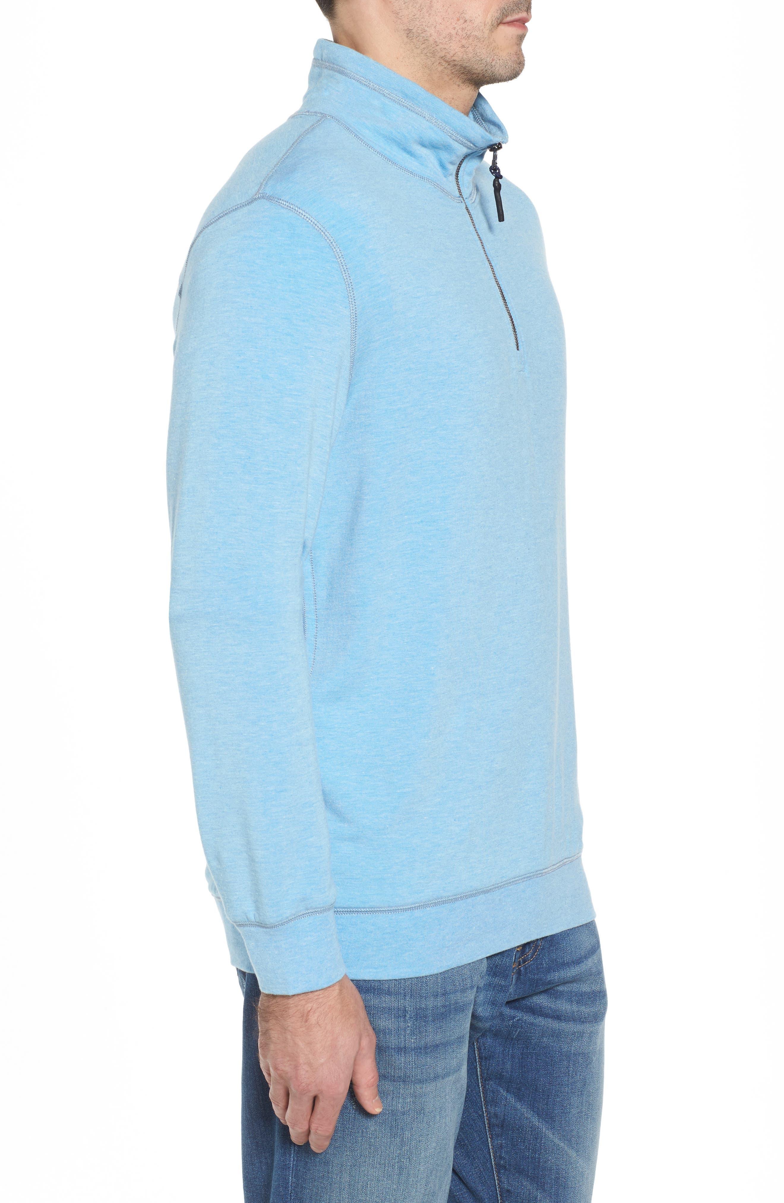 Brushback Quarter Zip Pullover,                             Alternate thumbnail 9, color,