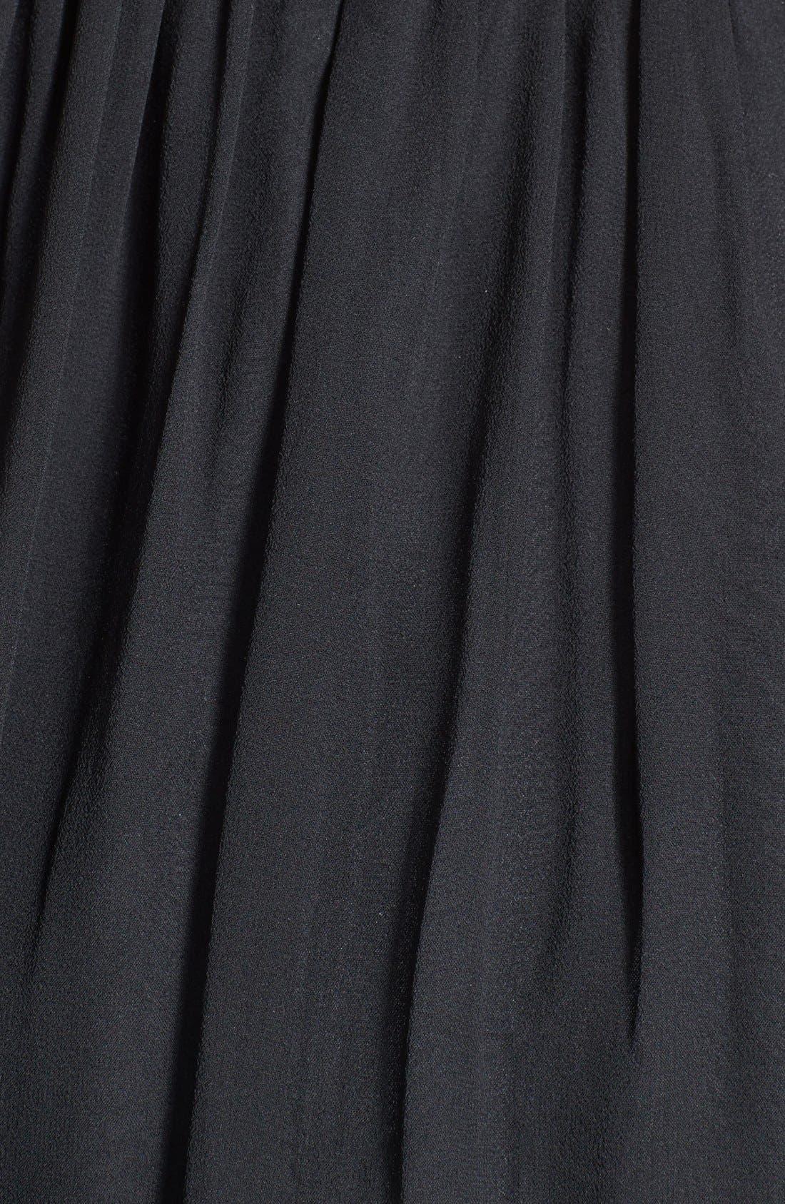 'Morgan' Strapless Silk Chiffon Dress,                             Alternate thumbnail 101, color,