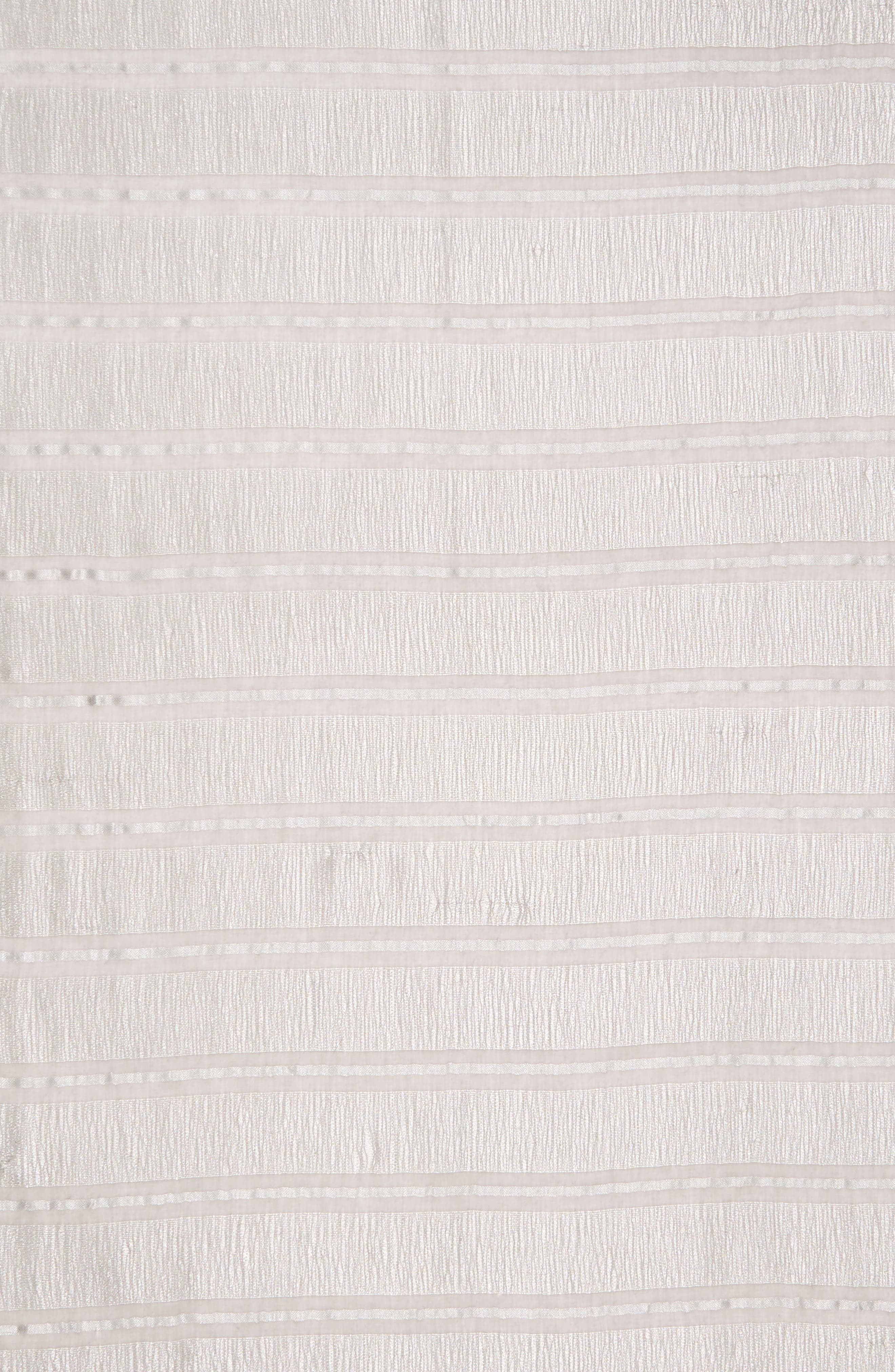 LA FIORENTINA,                             Metallic Stripe Scarf,                             Alternate thumbnail 4, color,                             020