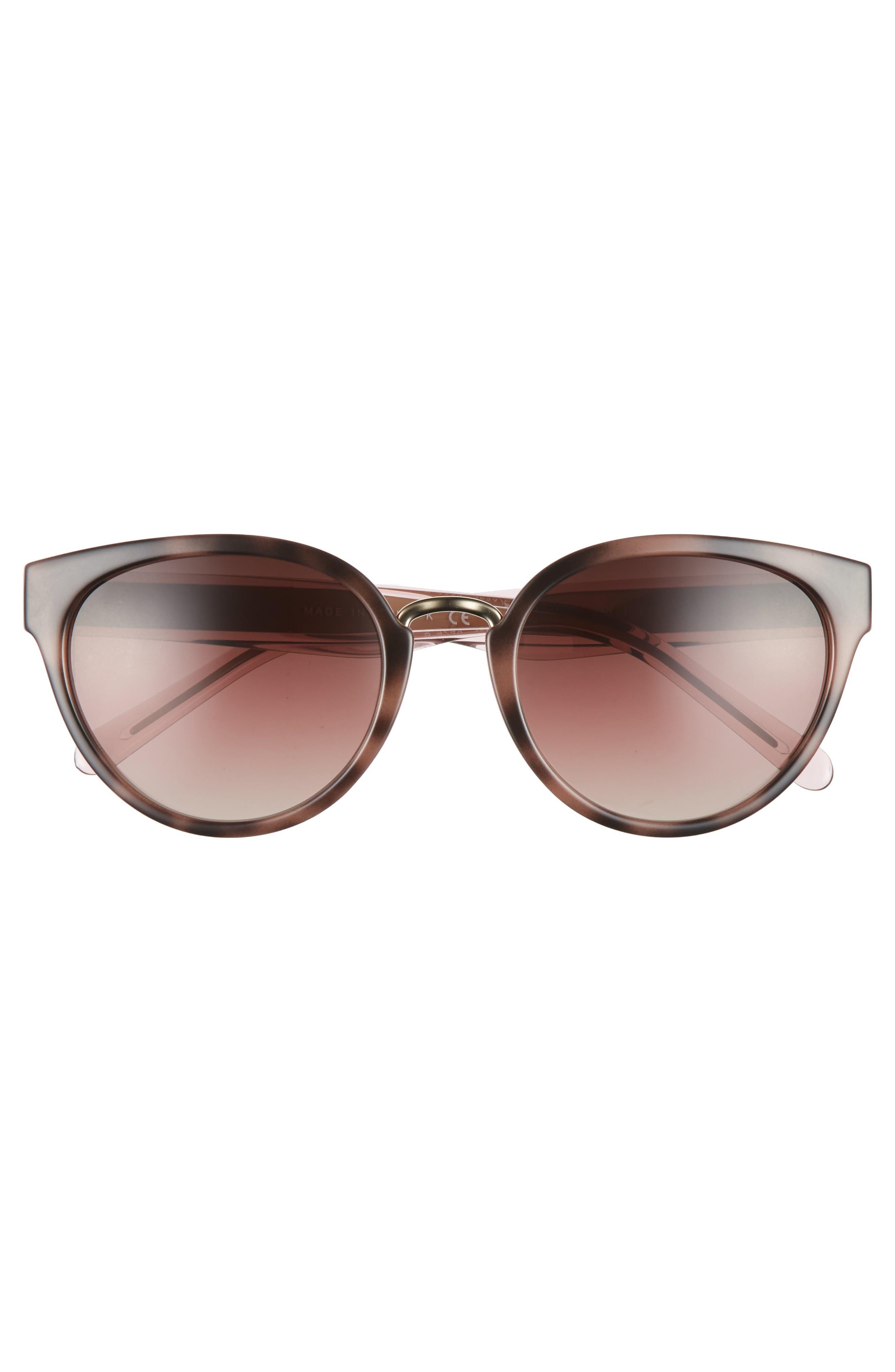53mm Gradient Cat Eye Sunglasses,                             Alternate thumbnail 11, color,