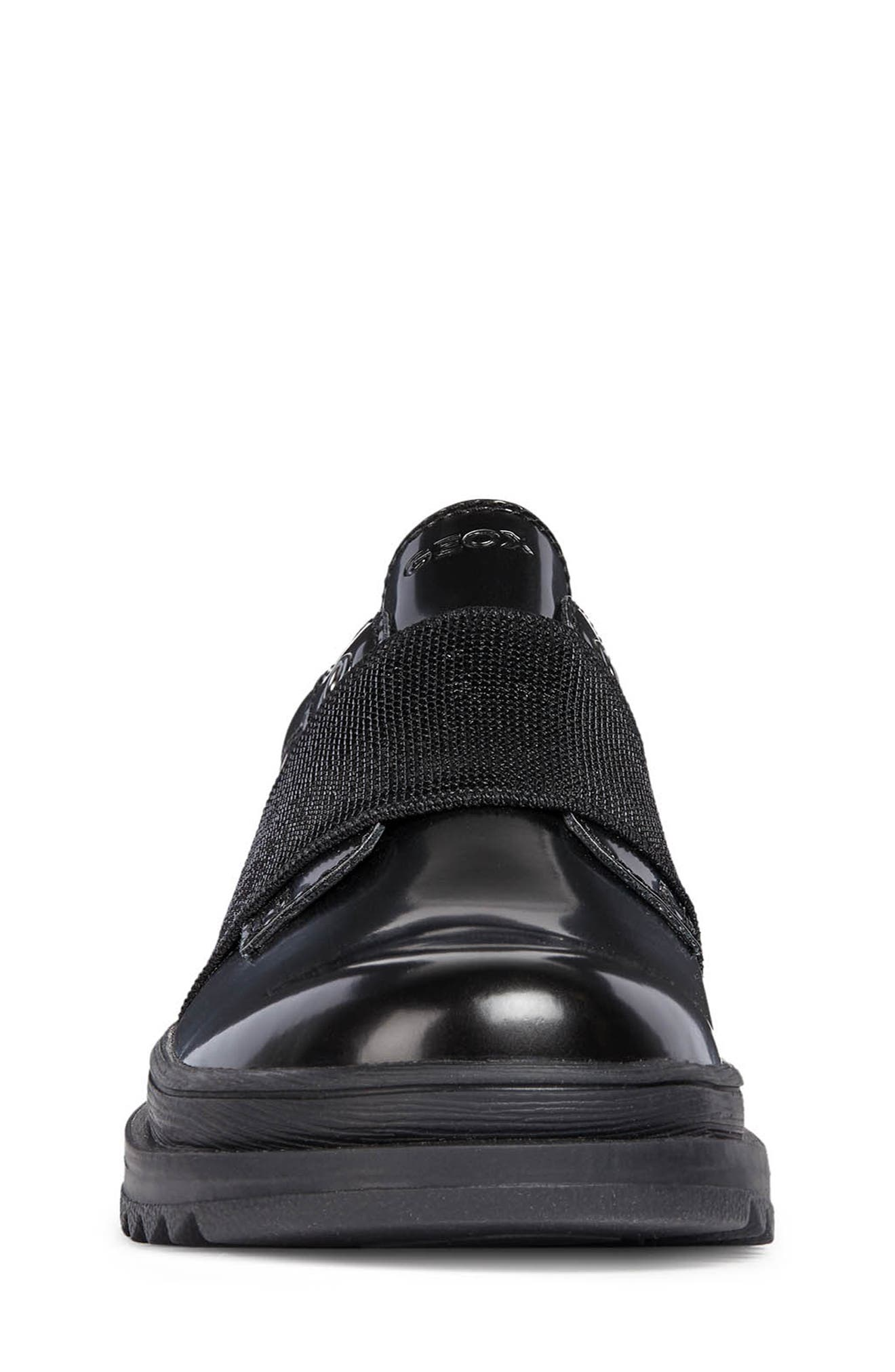Gilly Jaw Sneaker,                             Alternate thumbnail 4, color,                             BLACK