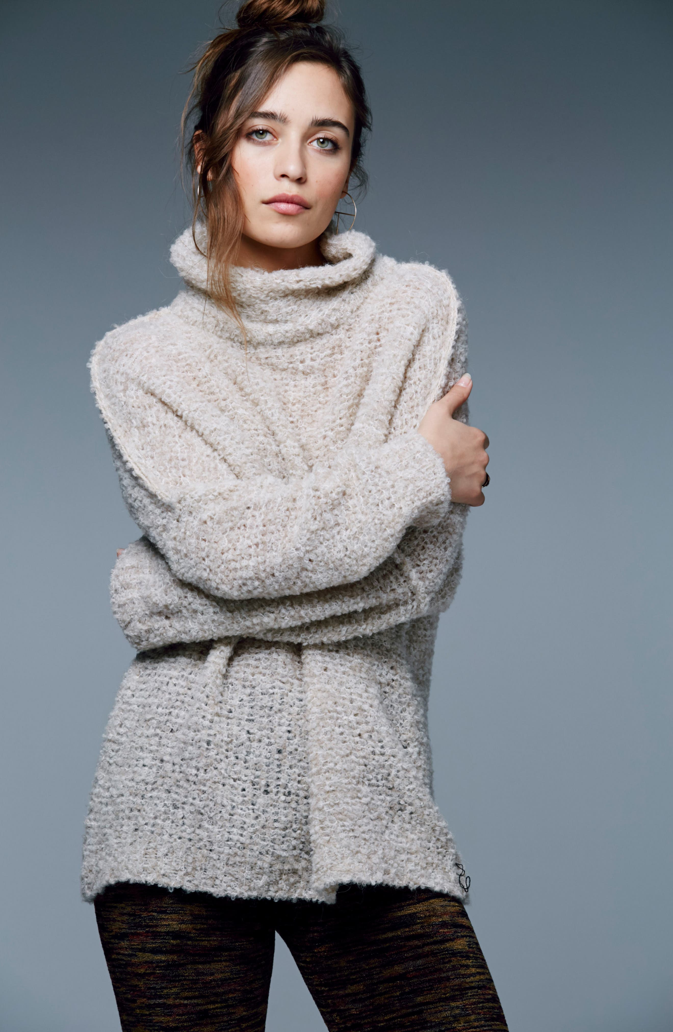 'She's All That' Knit Turtleneck Sweater,                             Alternate thumbnail 30, color,