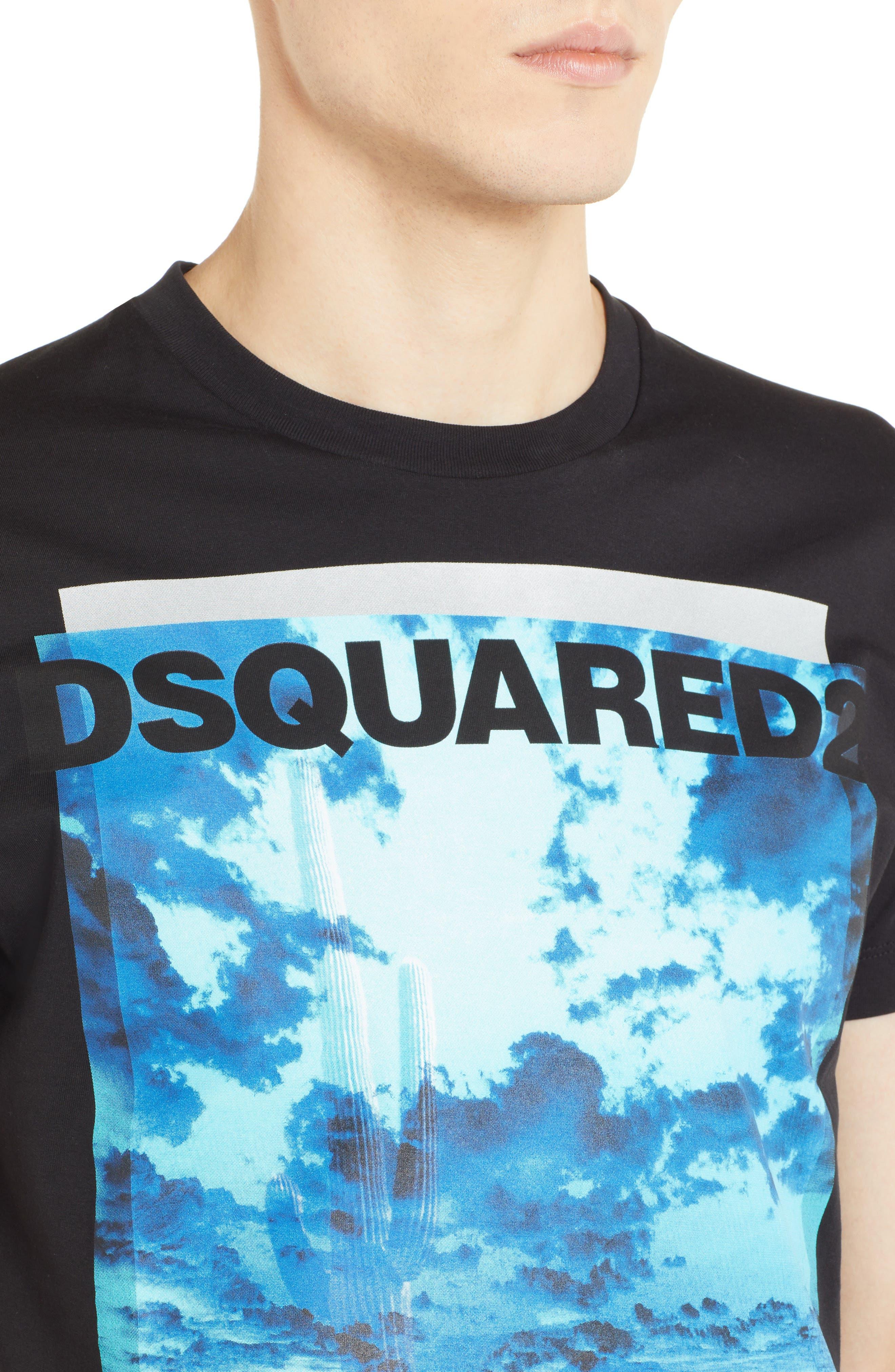 Picture Graphic T-Shirt,                             Alternate thumbnail 4, color,                             001