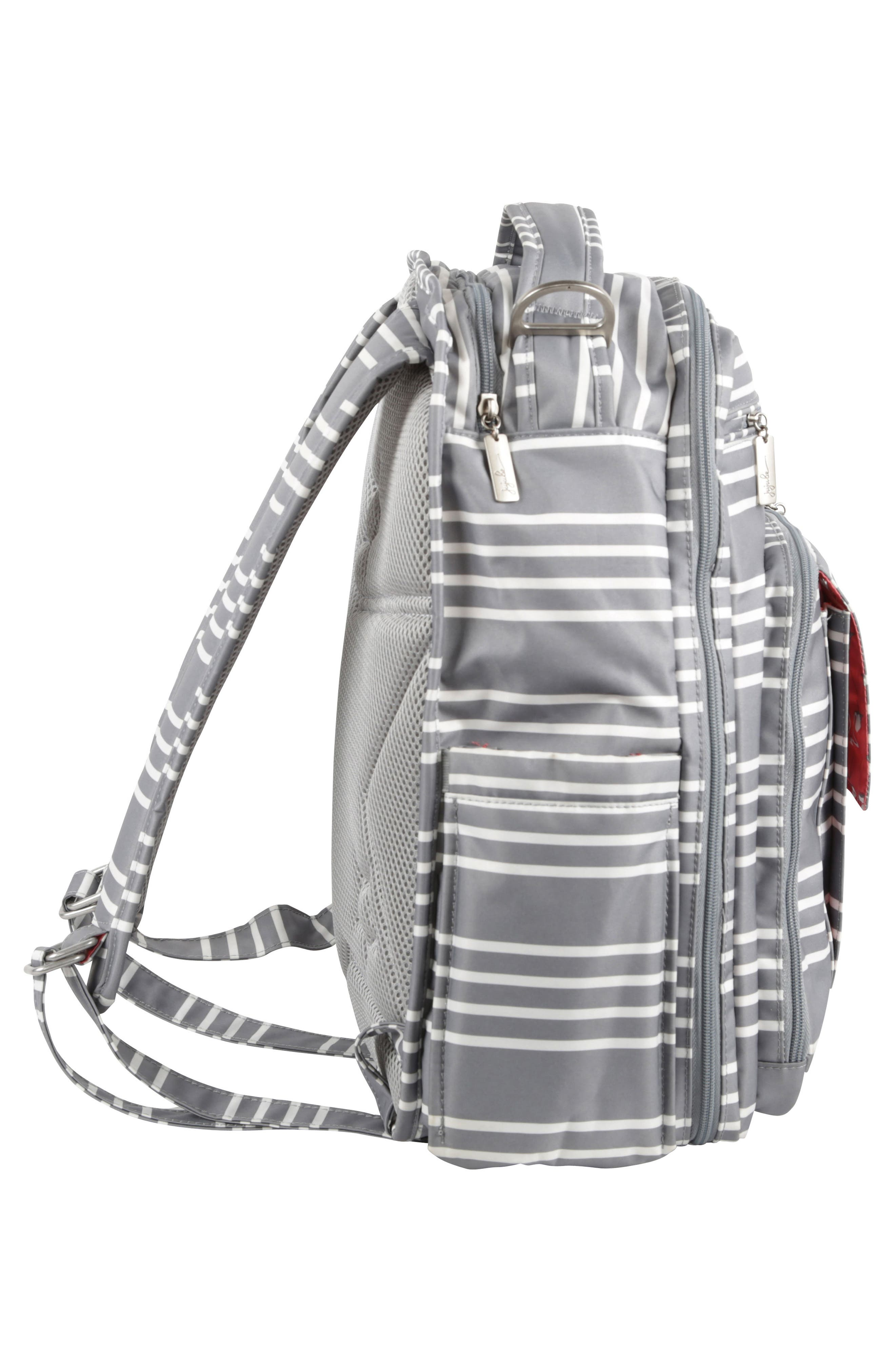 Be Right Back - Coastal Collection Diaper Backpack,                             Alternate thumbnail 4, color,                             042