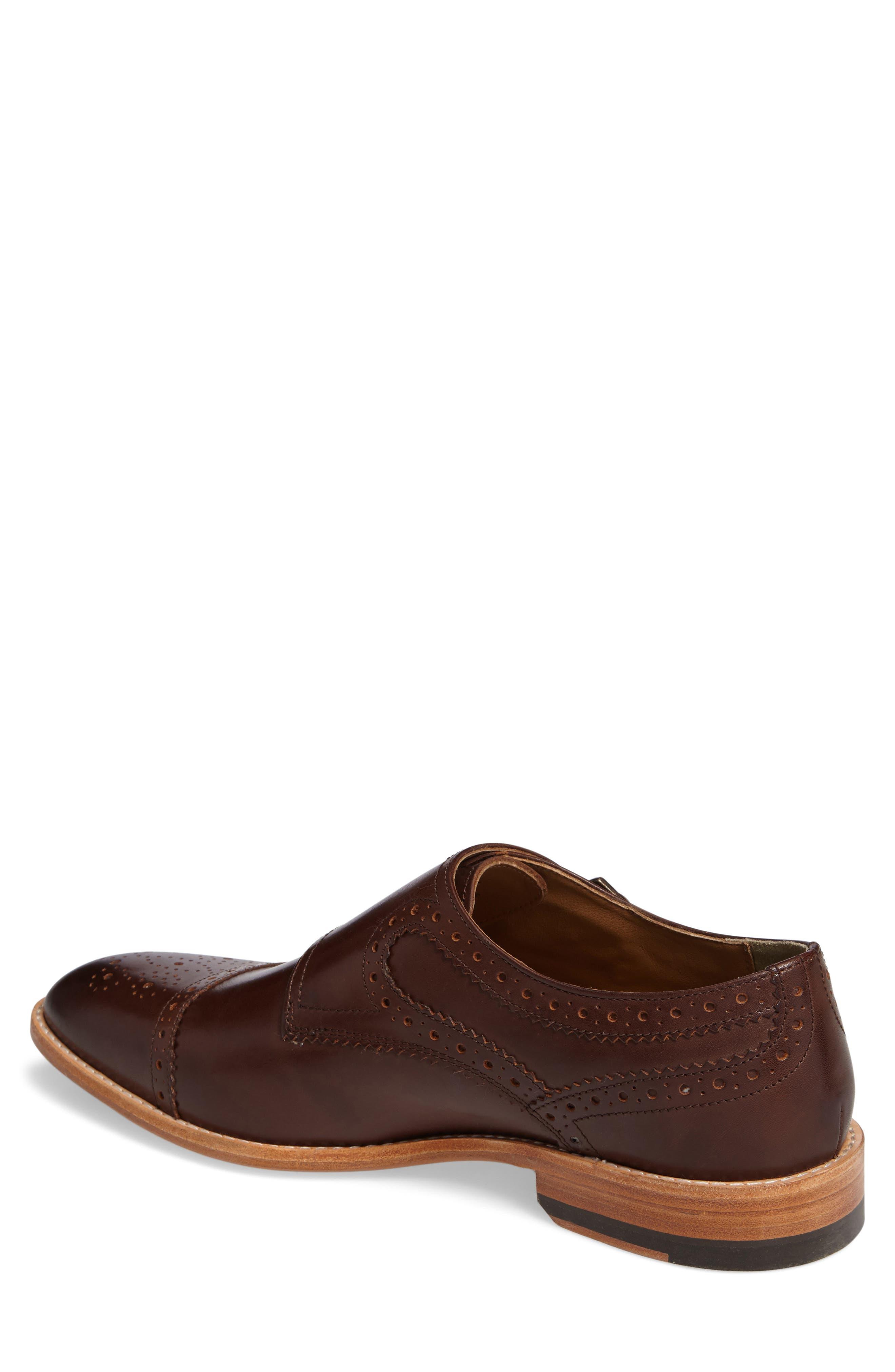 Vance Cap Toe Monk Shoe,                             Alternate thumbnail 2, color,