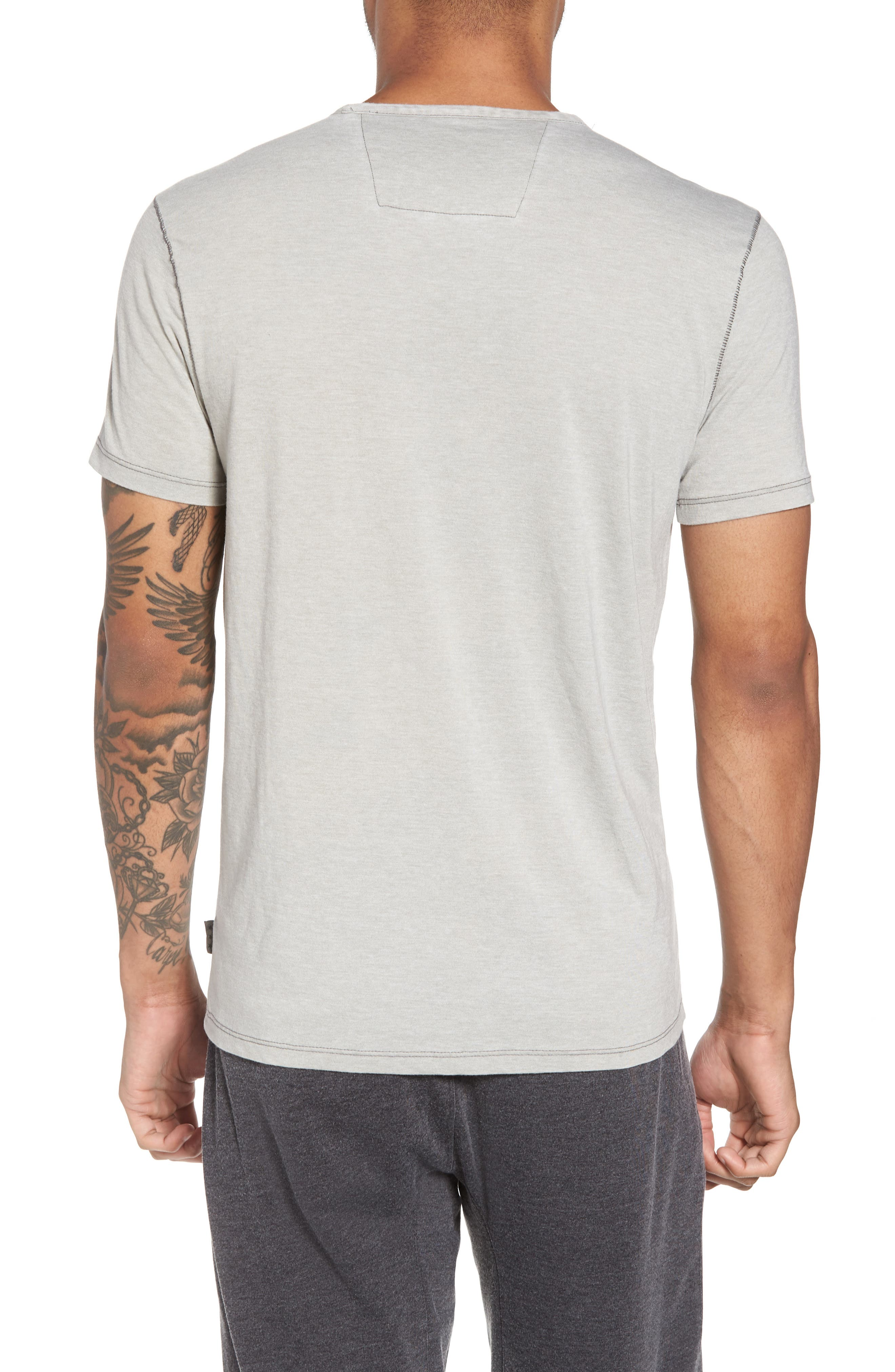 Slim Fit Crewneck T-Shirt,                             Alternate thumbnail 5, color,