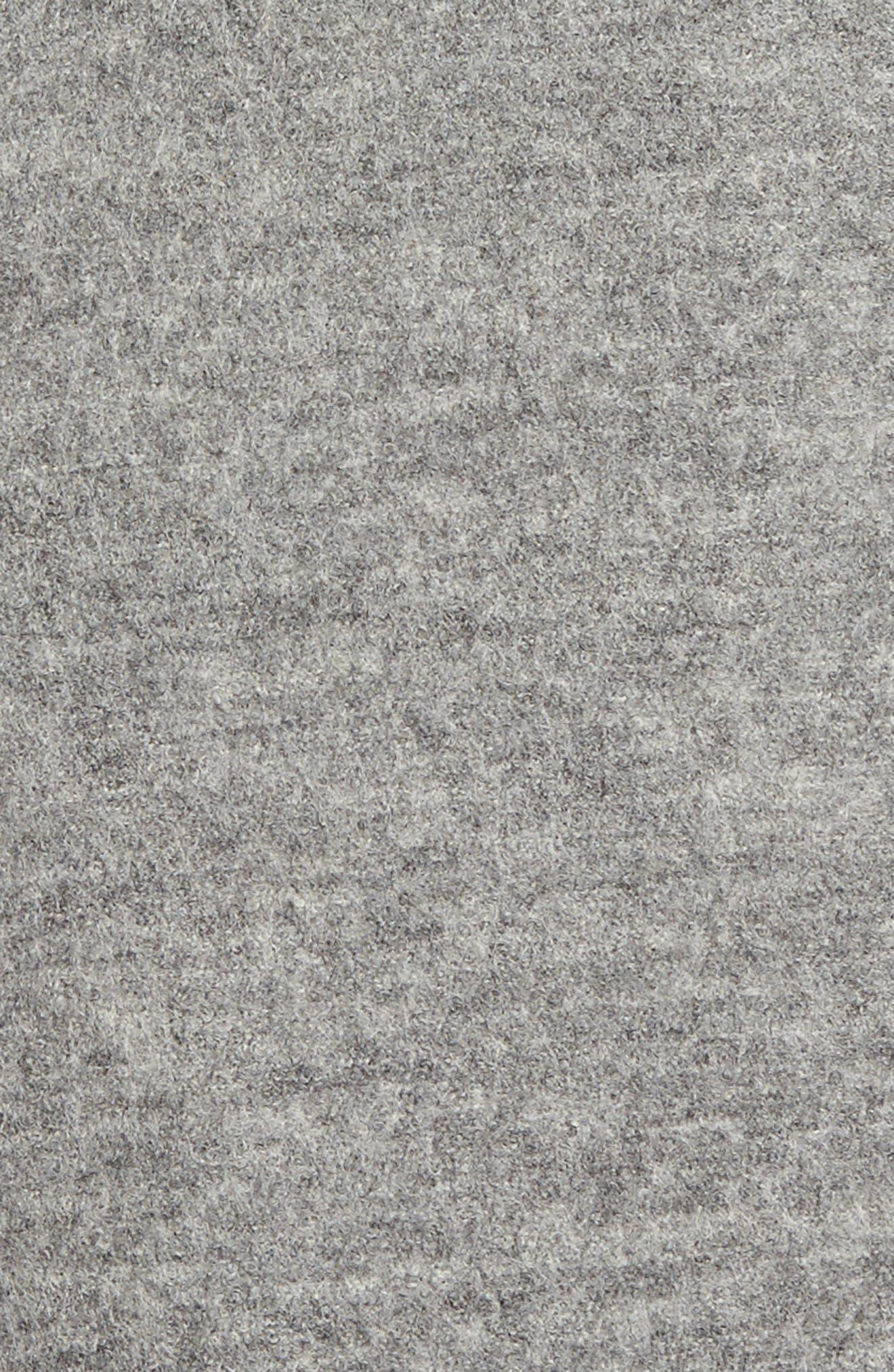 Emma Boiled Wool Coat,                             Alternate thumbnail 6, color,                             020
