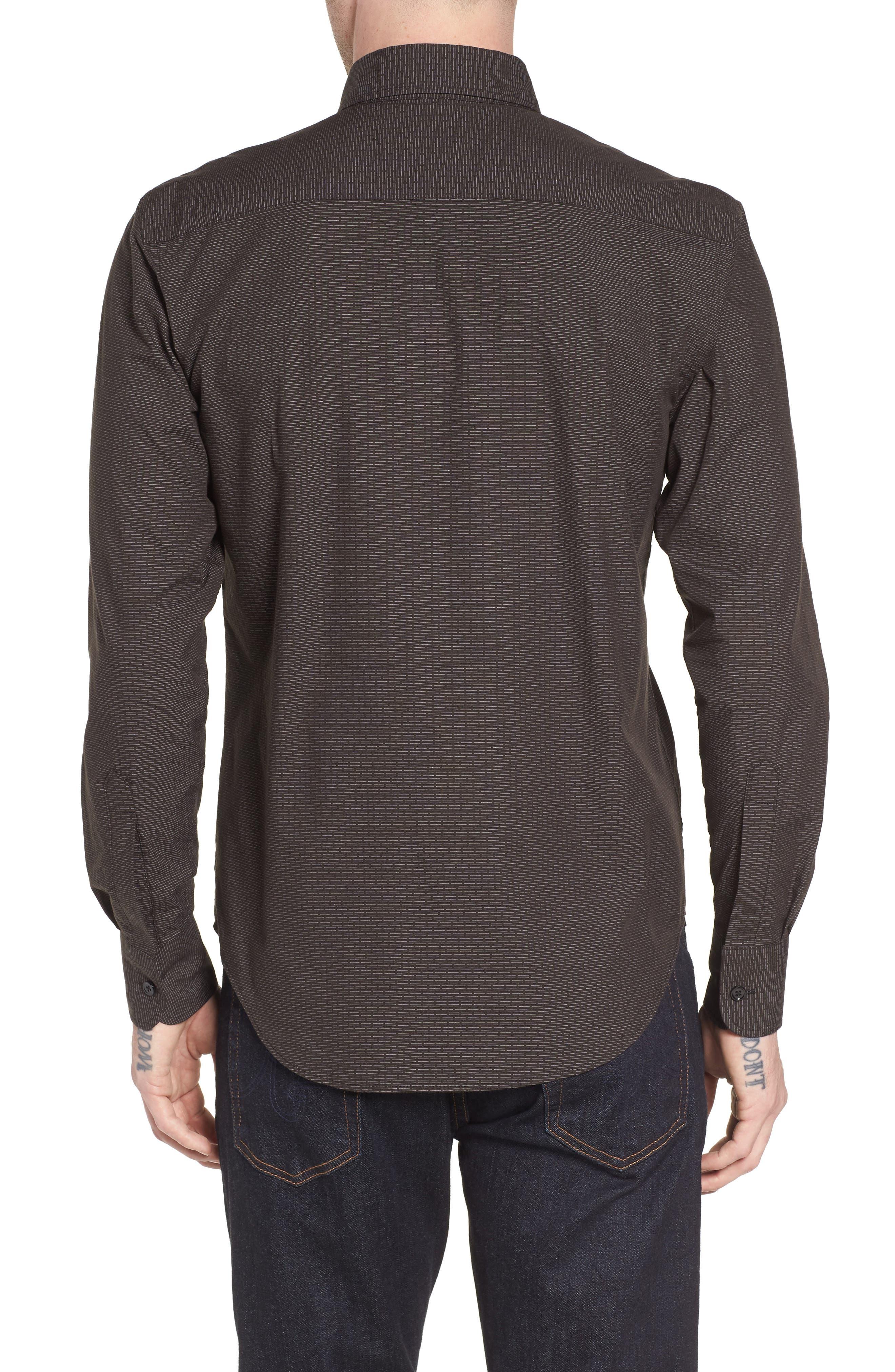Naked & Famous Dobby Woven Shirt,                             Alternate thumbnail 2, color,                             001