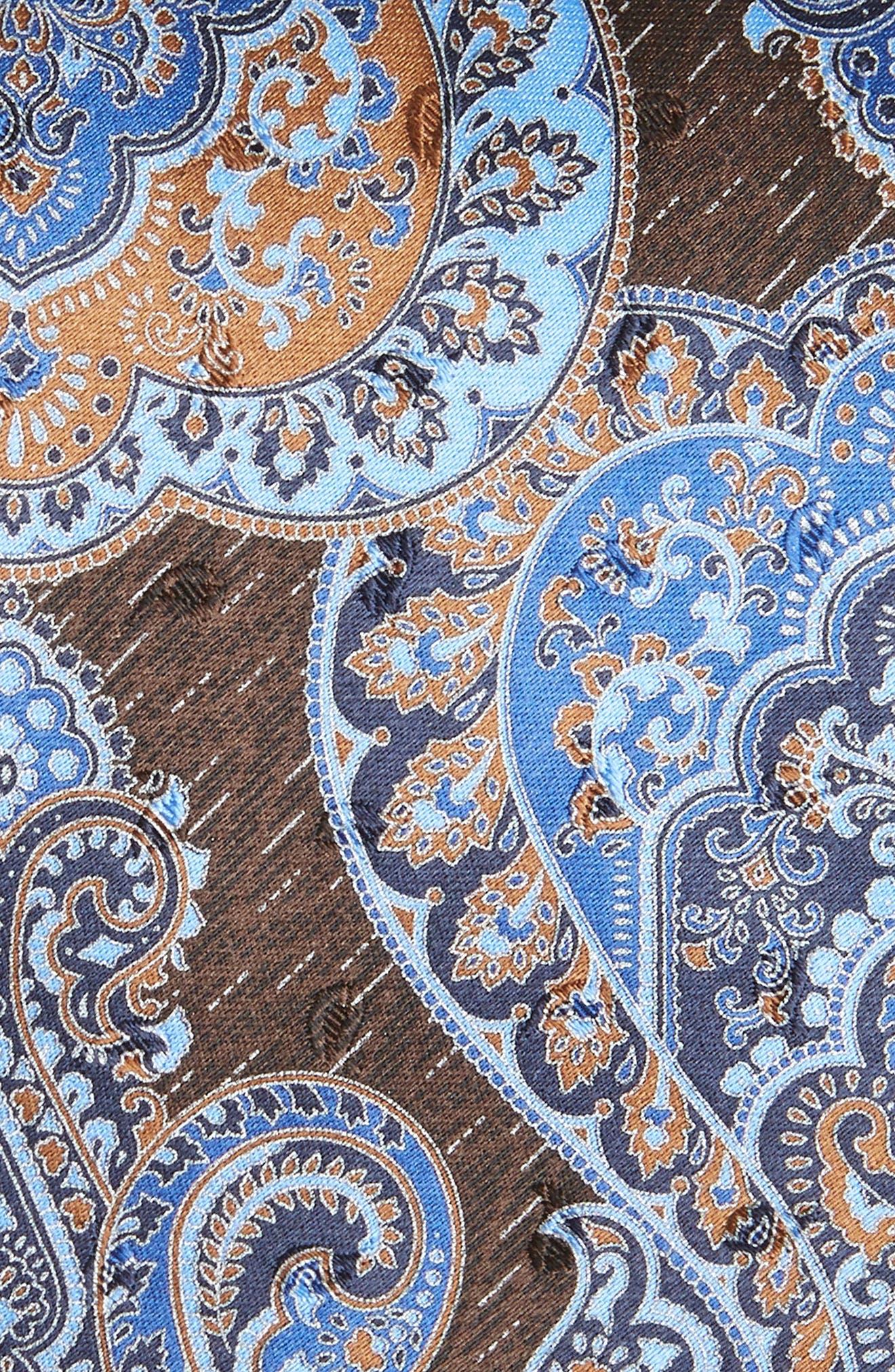 Paisley Silk Tie,                             Alternate thumbnail 2, color,                             418
