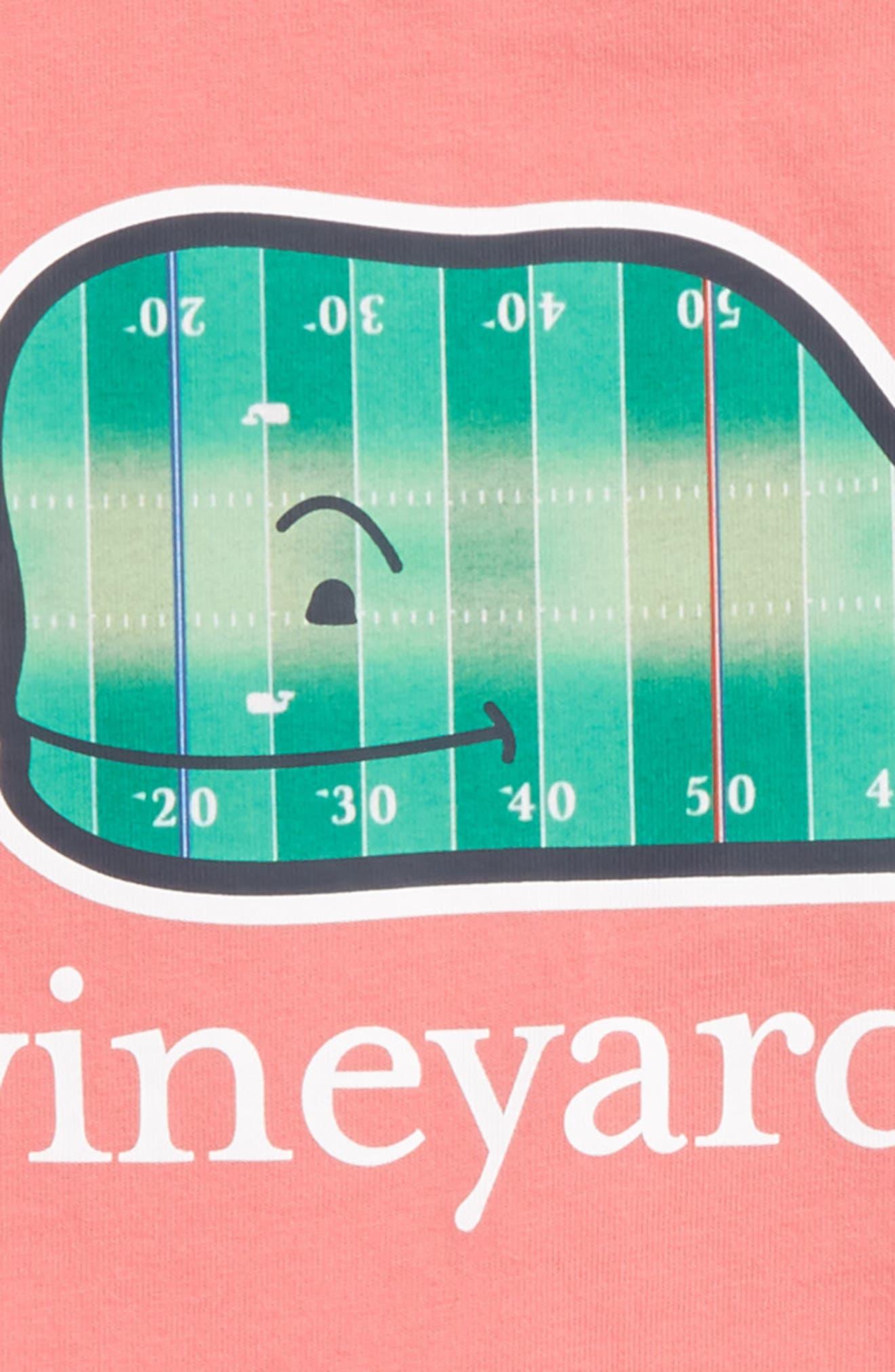Football Field Whale Pocket T-Shirt,                             Alternate thumbnail 3, color,                             602